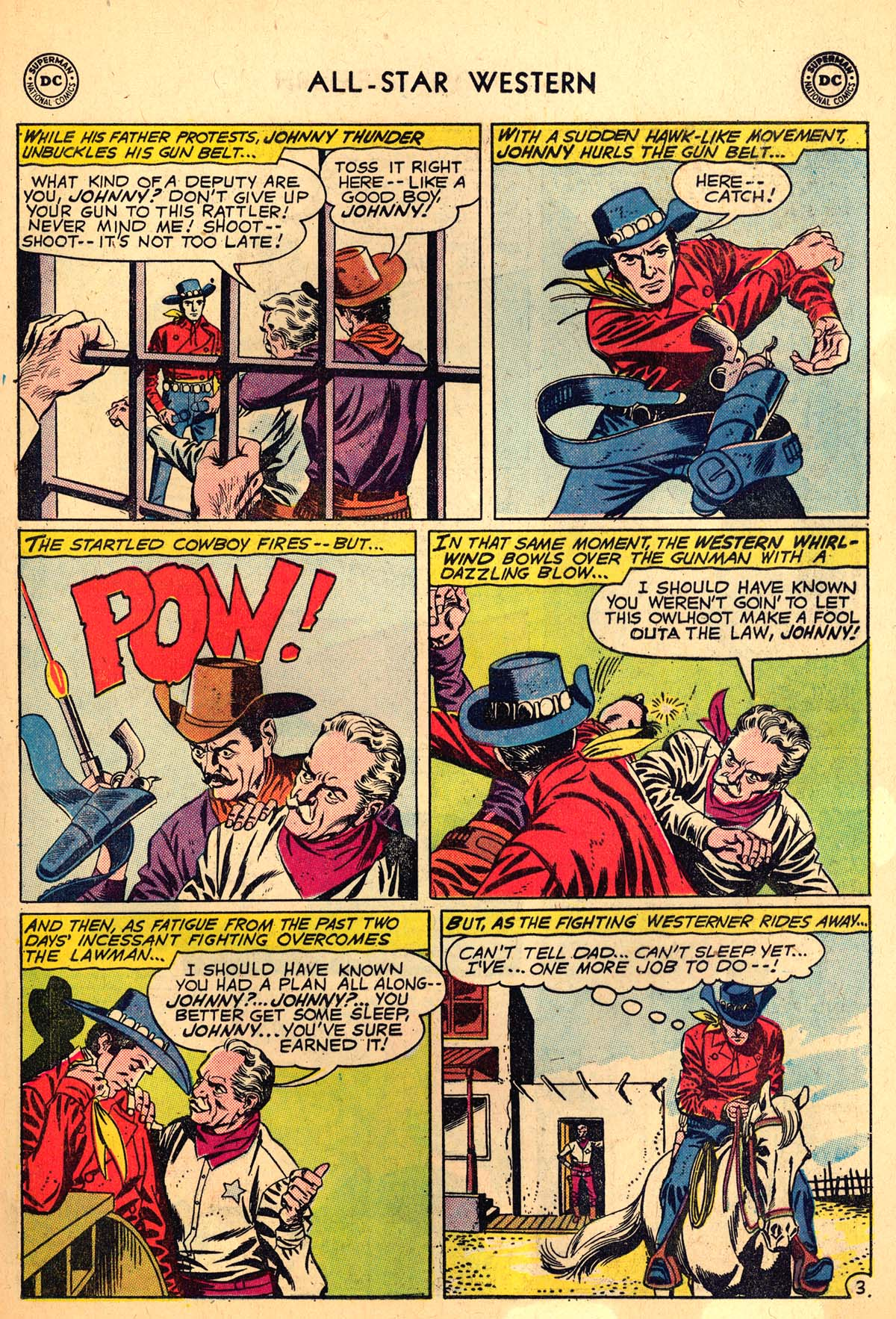 Read online All-Star Western (1951) comic -  Issue #110 - 5