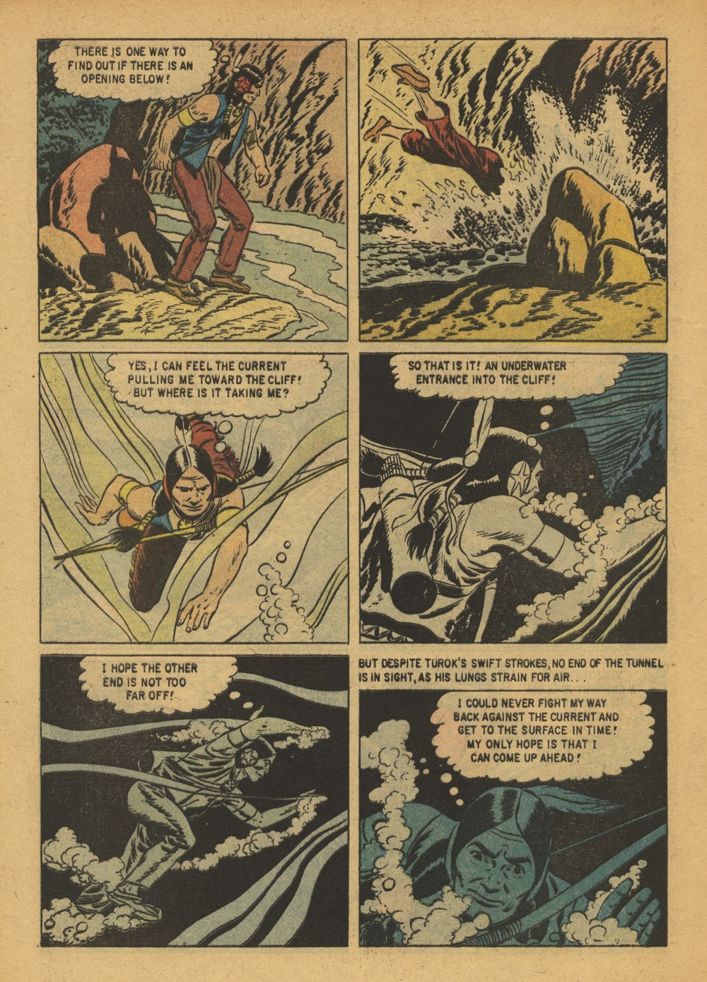 Read online Turok, Son of Stone comic -  Issue #15 - 8