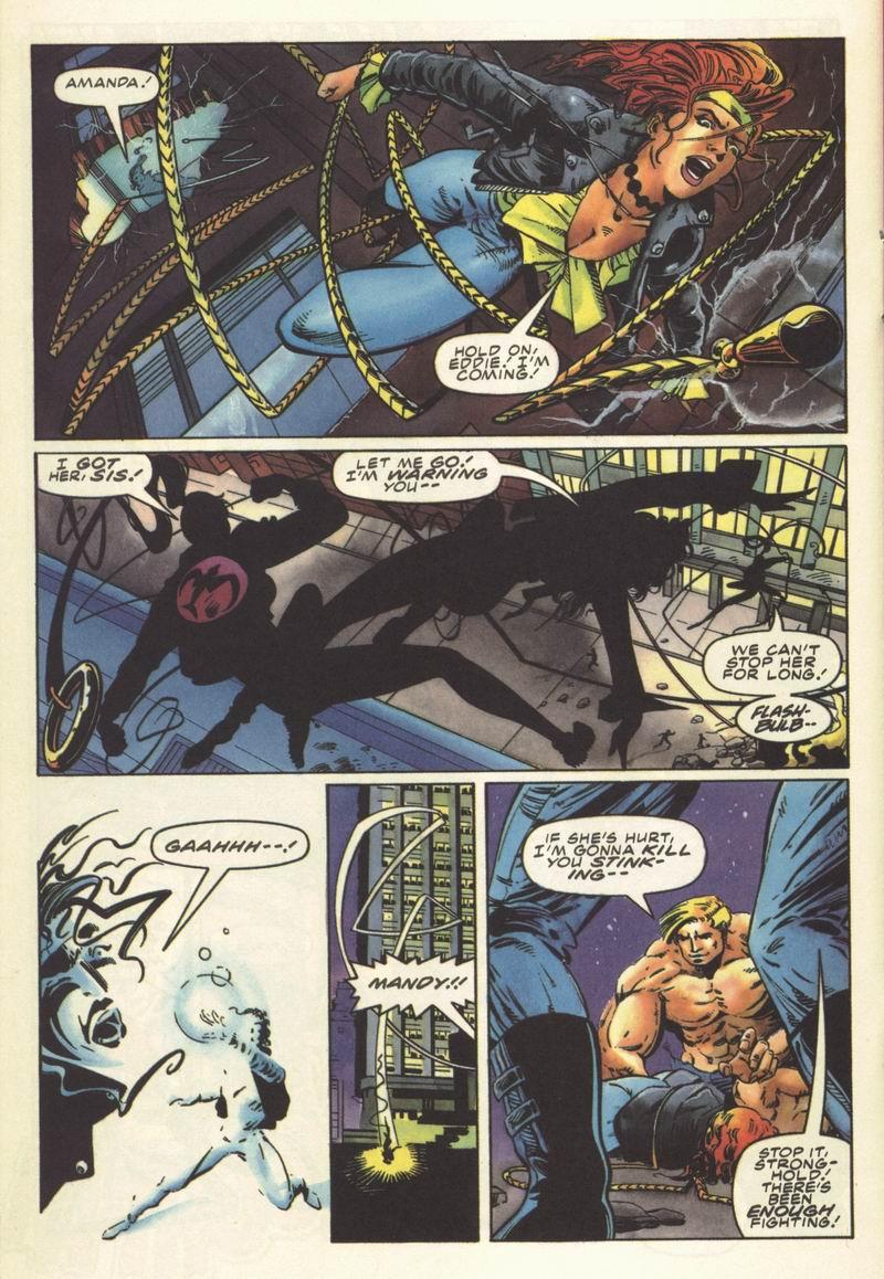 Read online Secret Weapons comic -  Issue #8 - 16