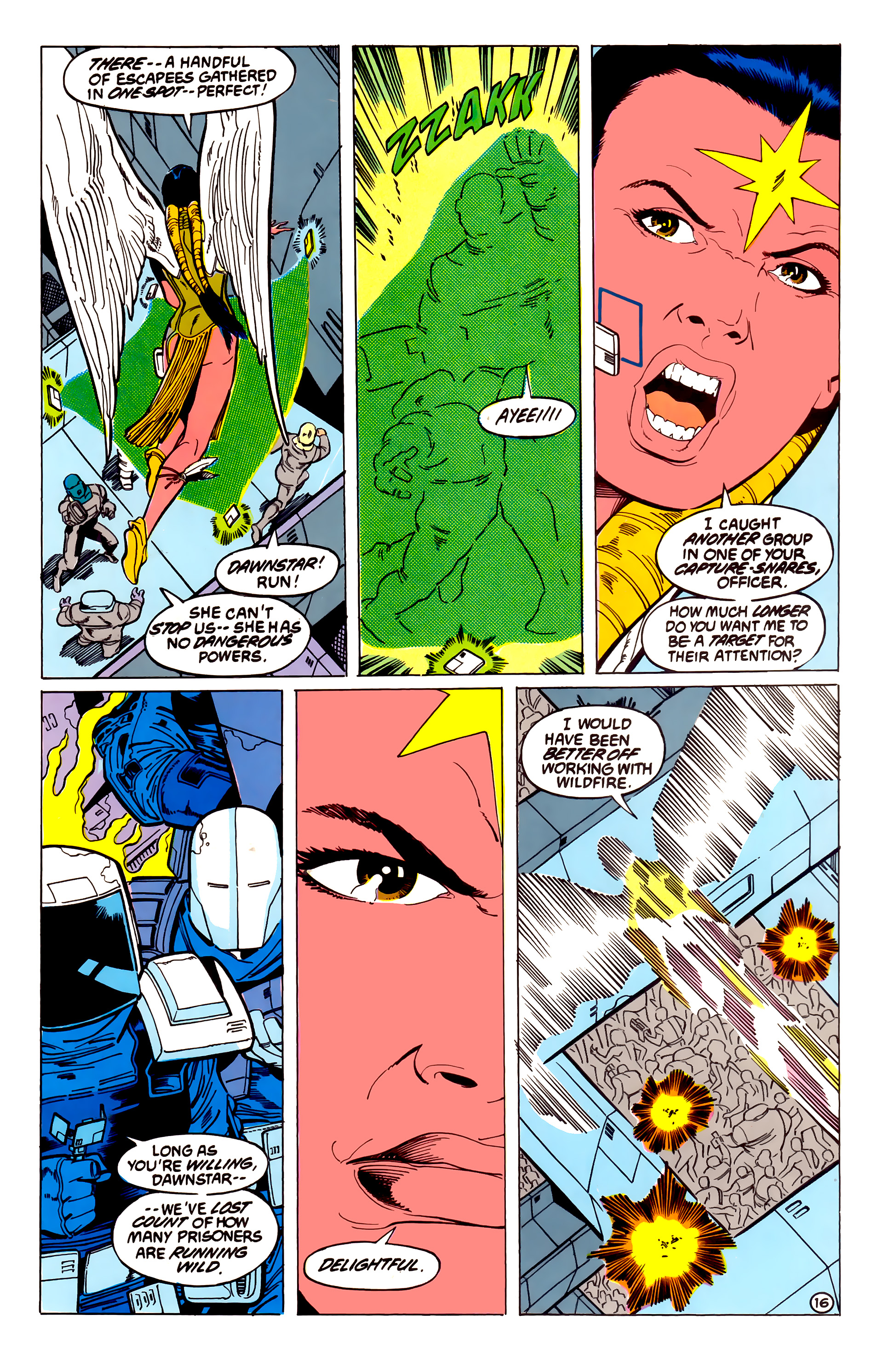 Legion of Super-Heroes (1984) 54 Page 16