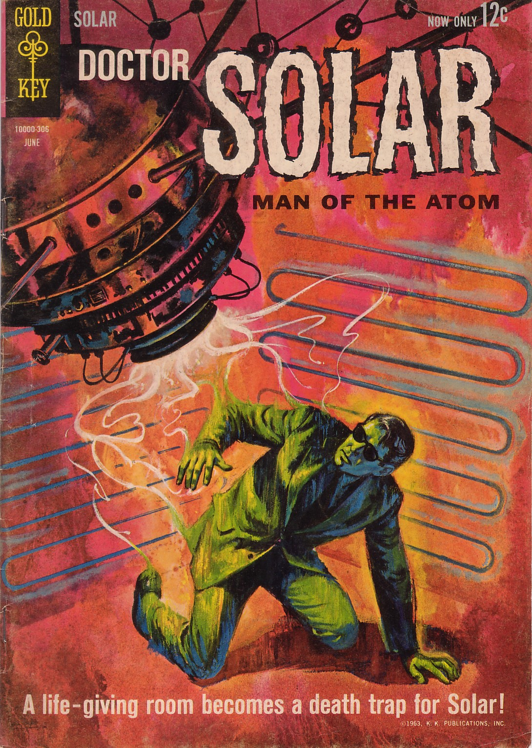 Doctor Solar, Man of the Atom (1962) 4 Page 1