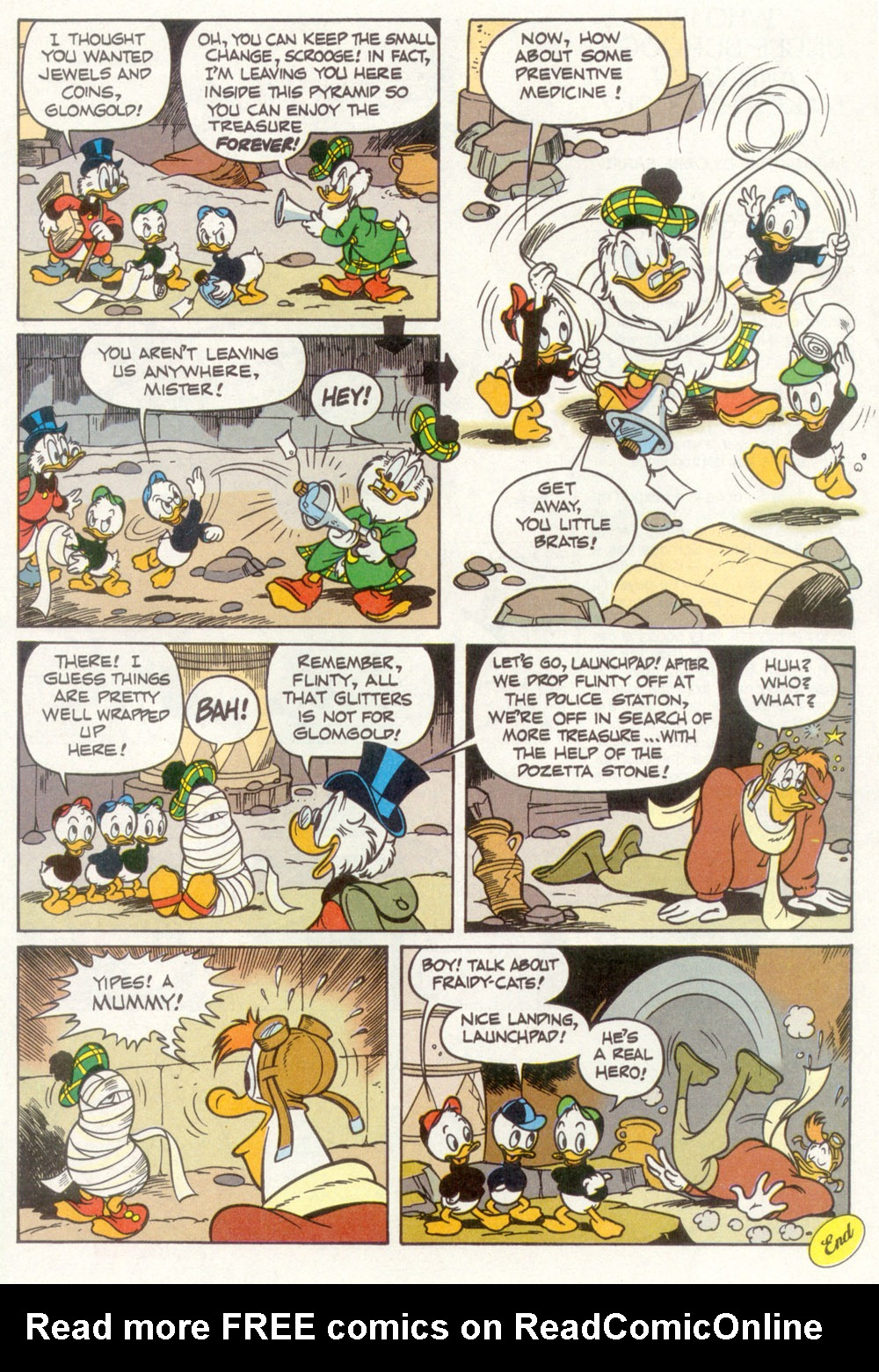 Read online Uncle Scrooge (1953) comic -  Issue #266 - 29