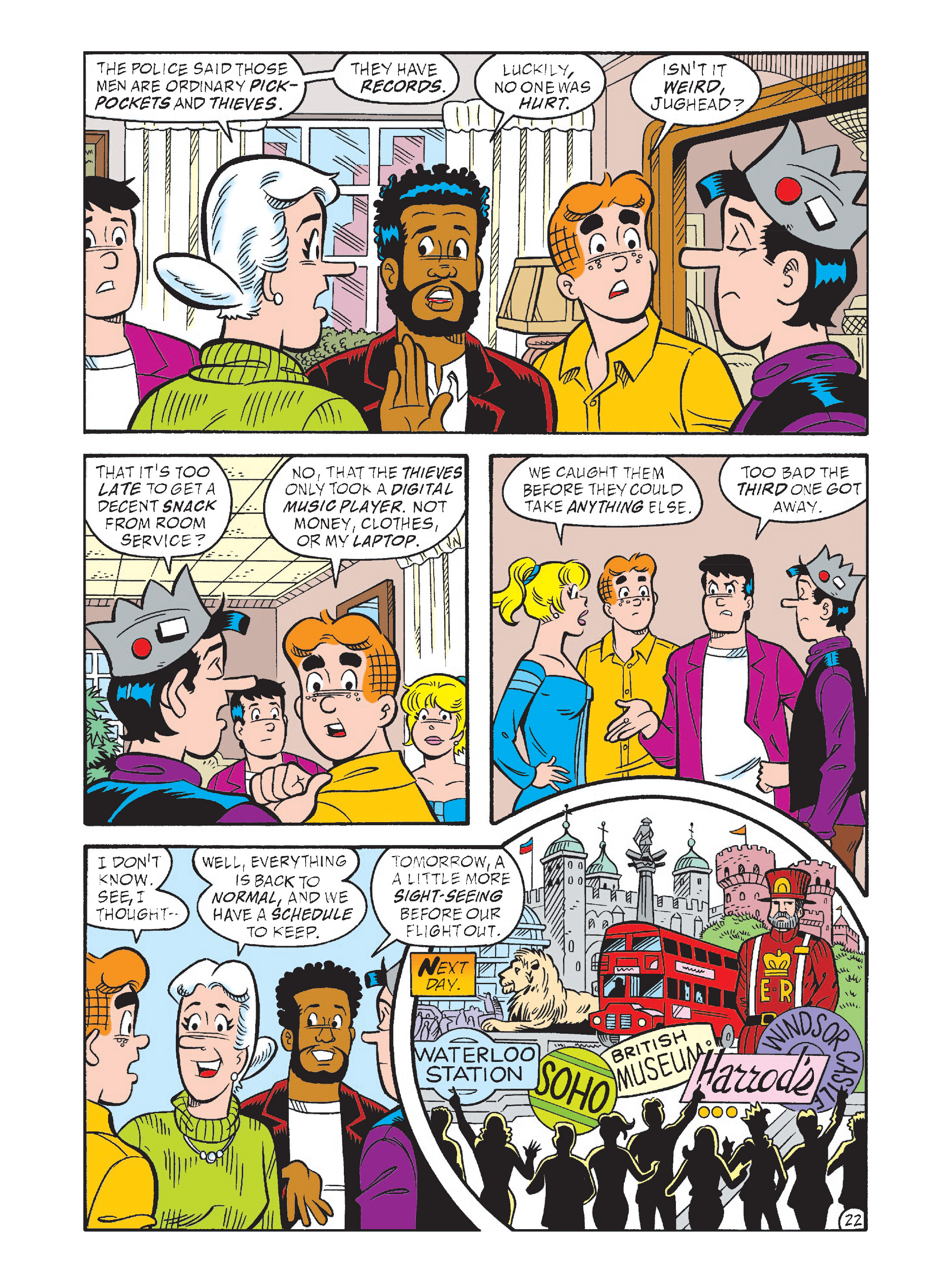 Read online Archie's Funhouse Double Digest comic -  Issue #1 - 57