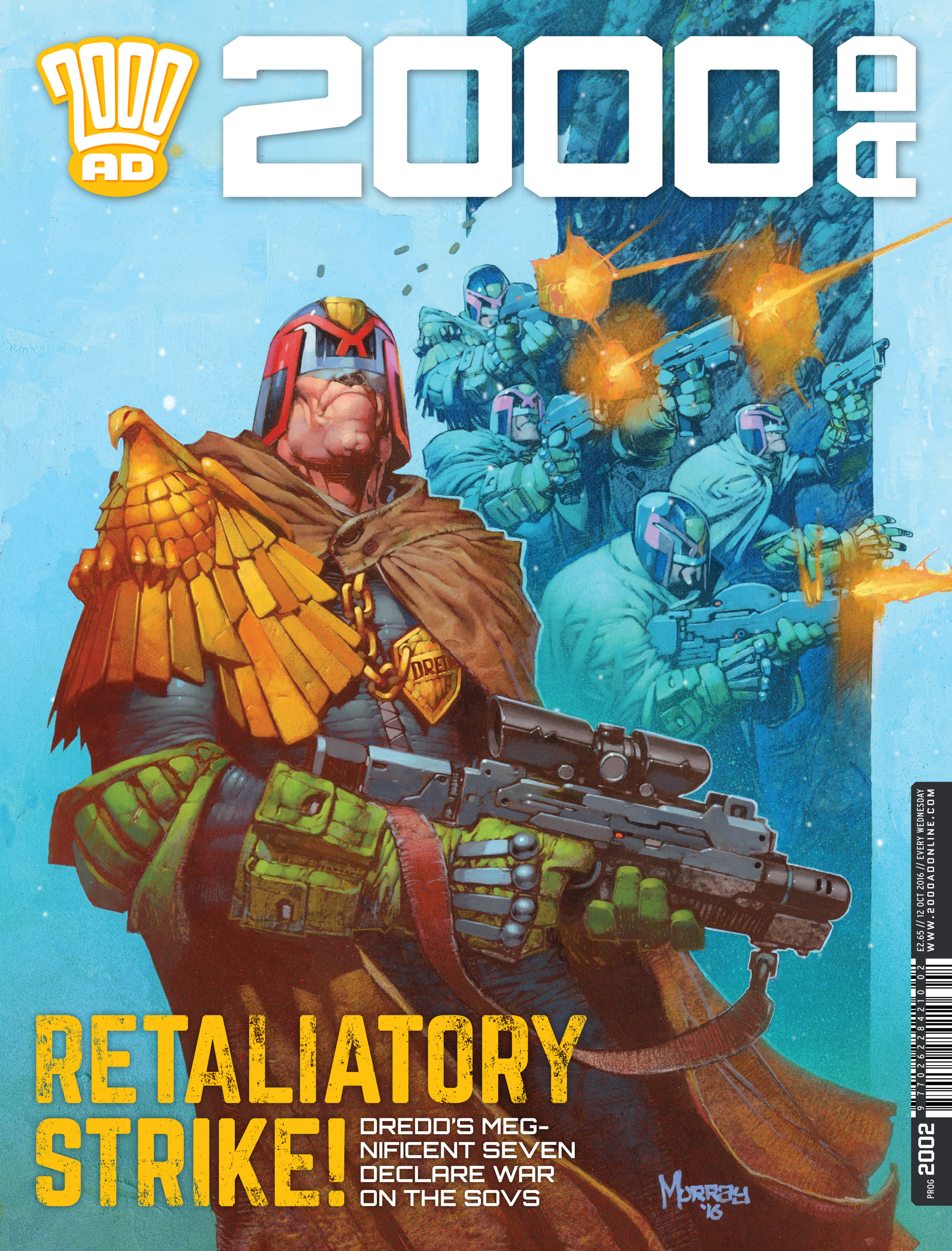 Read online 2000 AD comic -  Issue #2002 - 1