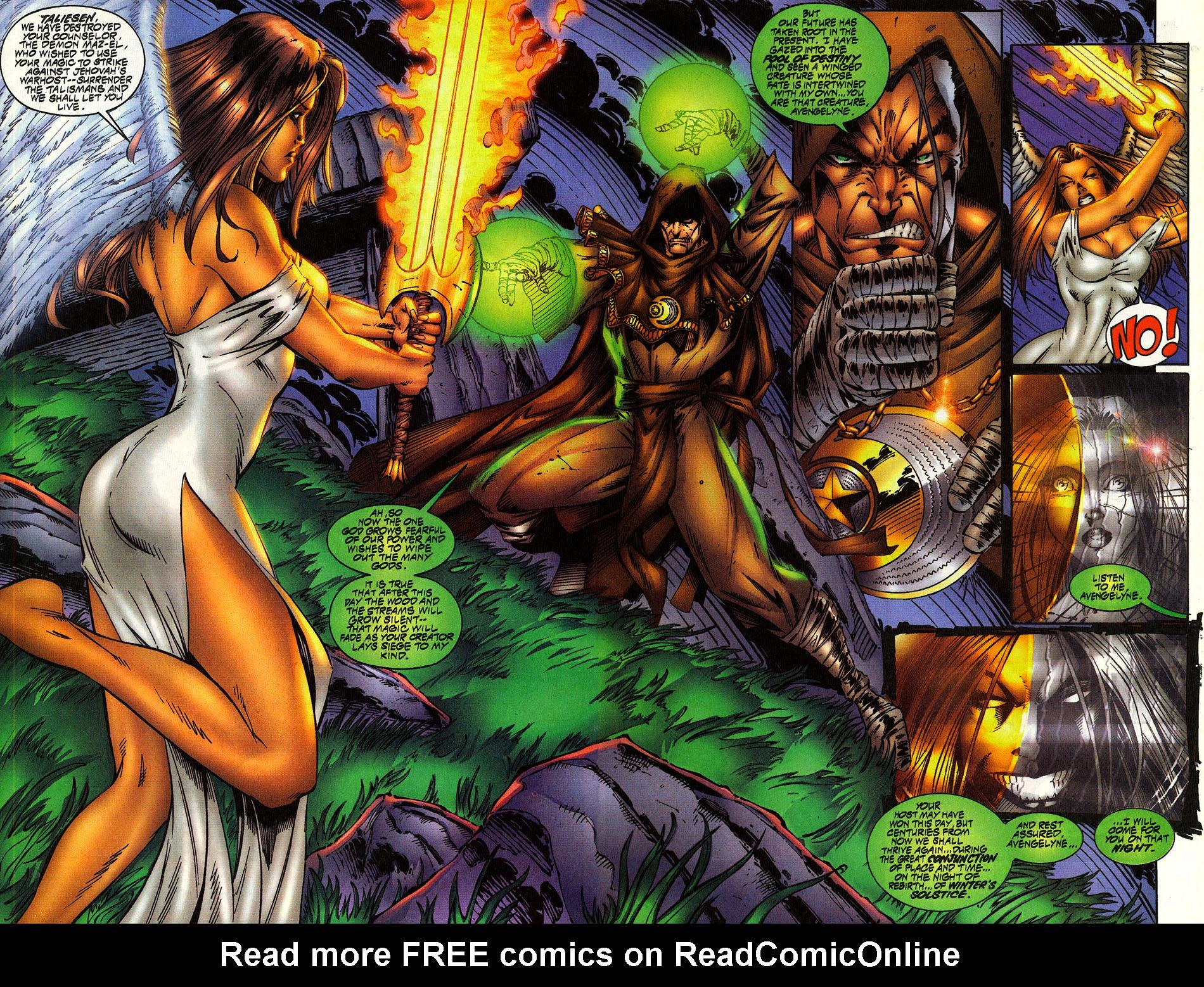 Read online Avengelyne (1996) comic -  Issue #10 - 4