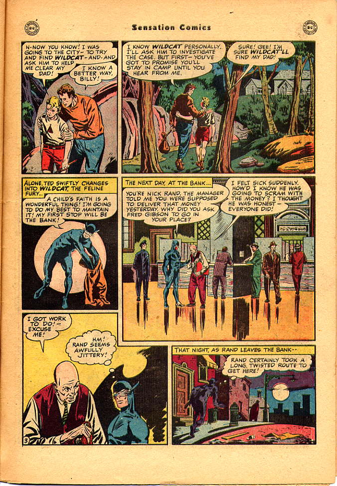 Read online Sensation (Mystery) Comics comic -  Issue #83 - 45