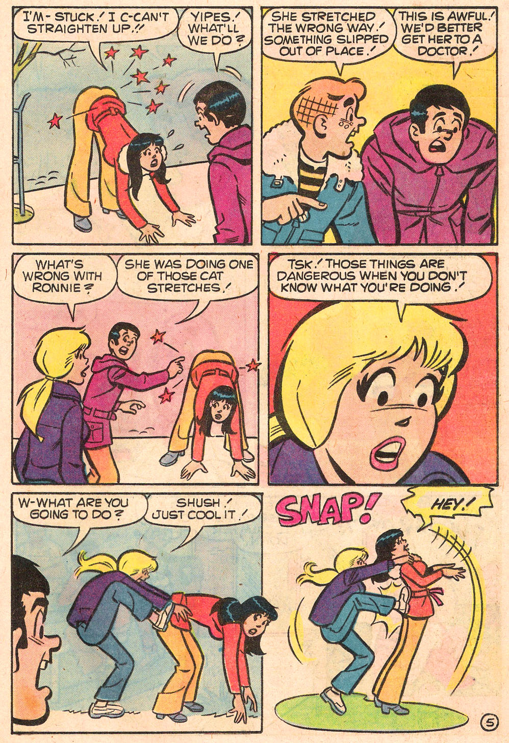 Read online Archie's Girls Betty and Veronica comic -  Issue #268 - 17