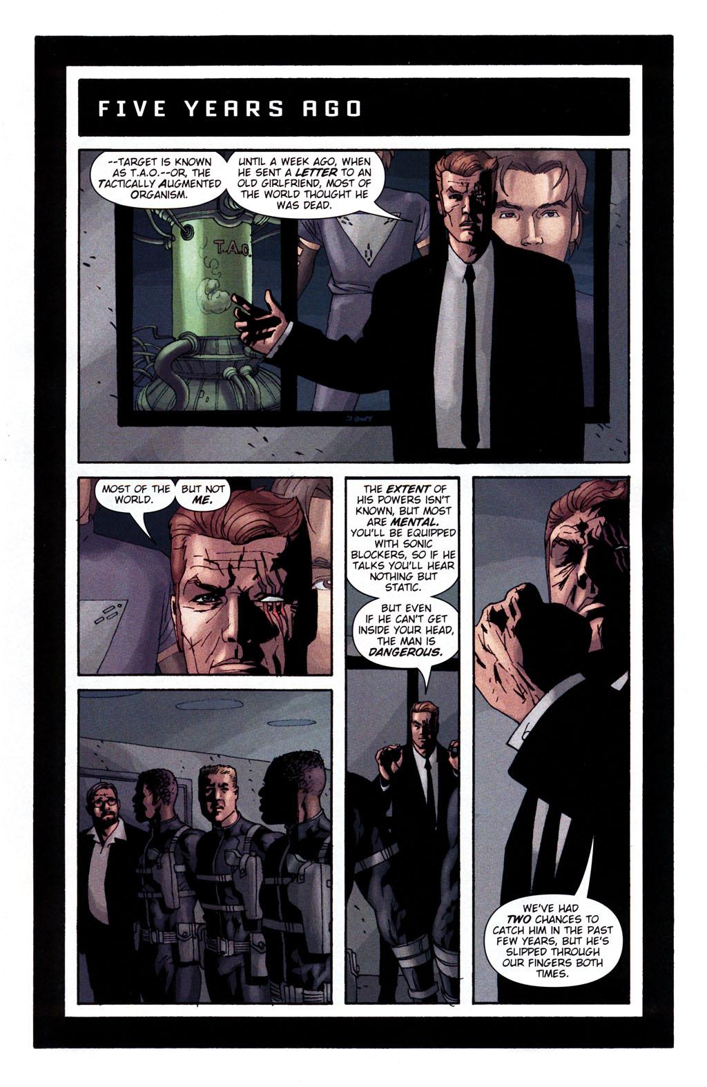 Read online Sleeper: Season Two comic -  Issue #5 - 7