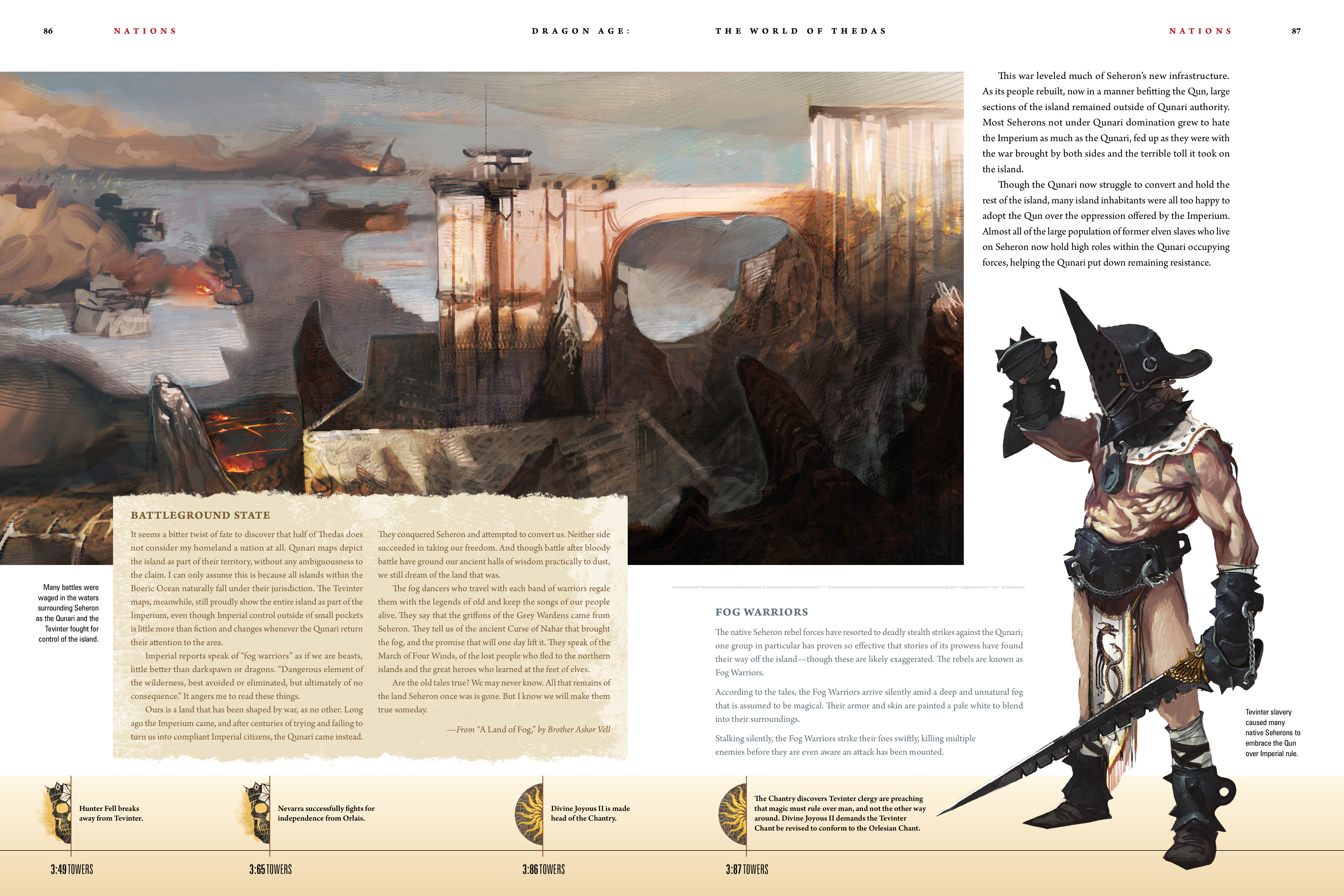Read online Dragon Age: The World of Thedas comic -  Issue # TPB 1 - 70