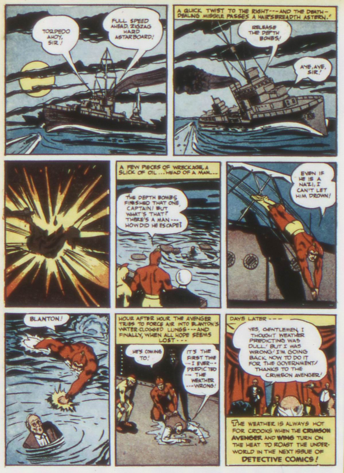 Read online Detective Comics (1937) comic -  Issue #75 - 40