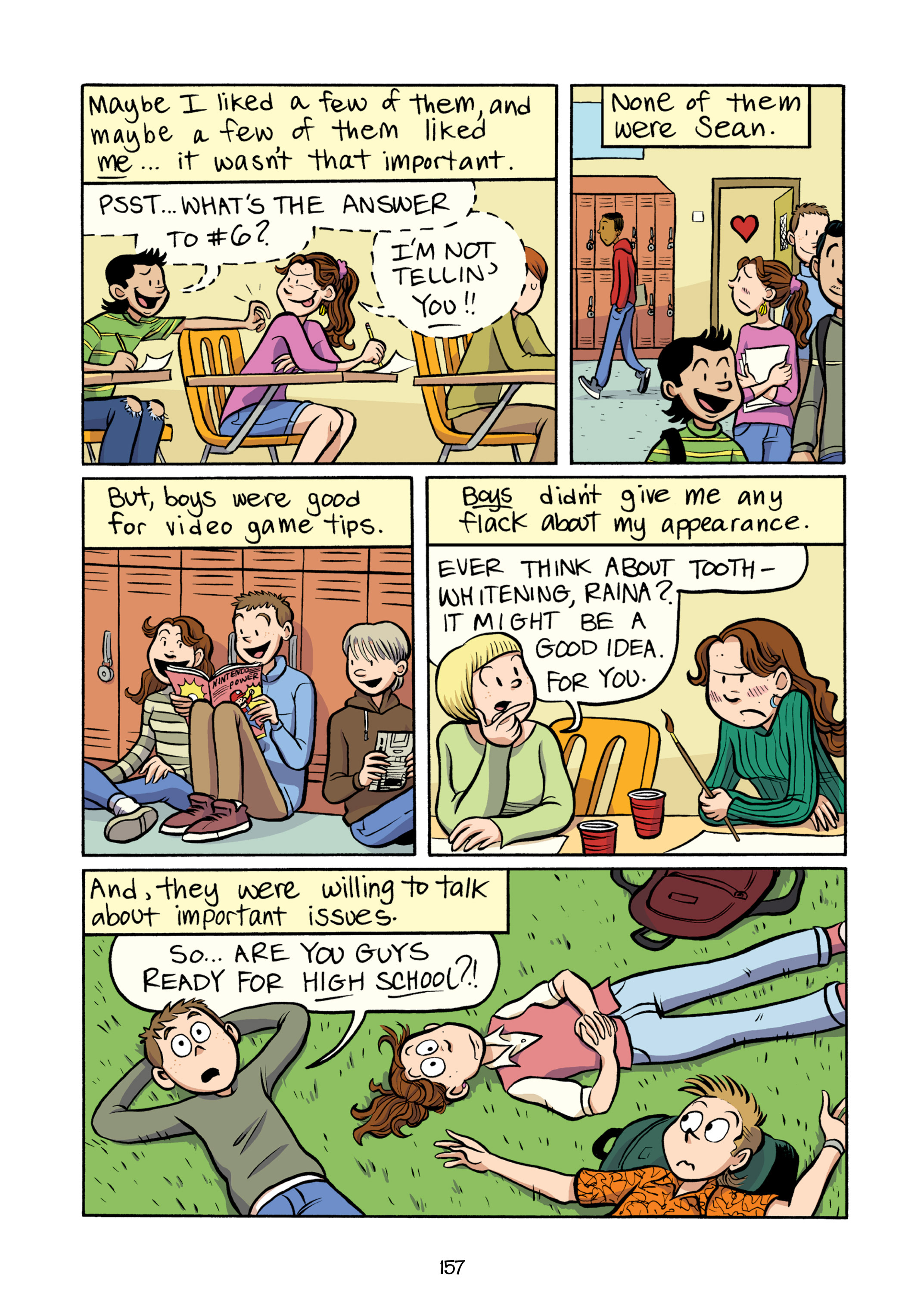 Read online Smile comic -  Issue # TPB - 163