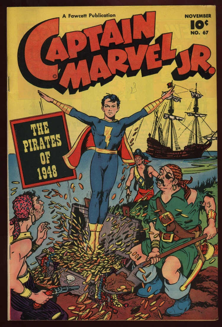 Captain Marvel, Jr. issue 67 - Page 1
