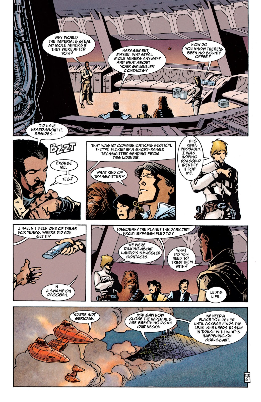 Read online Star Wars Legends: The New Republic - Epic Collection comic -  Issue # TPB 4 (Part 1) - 62