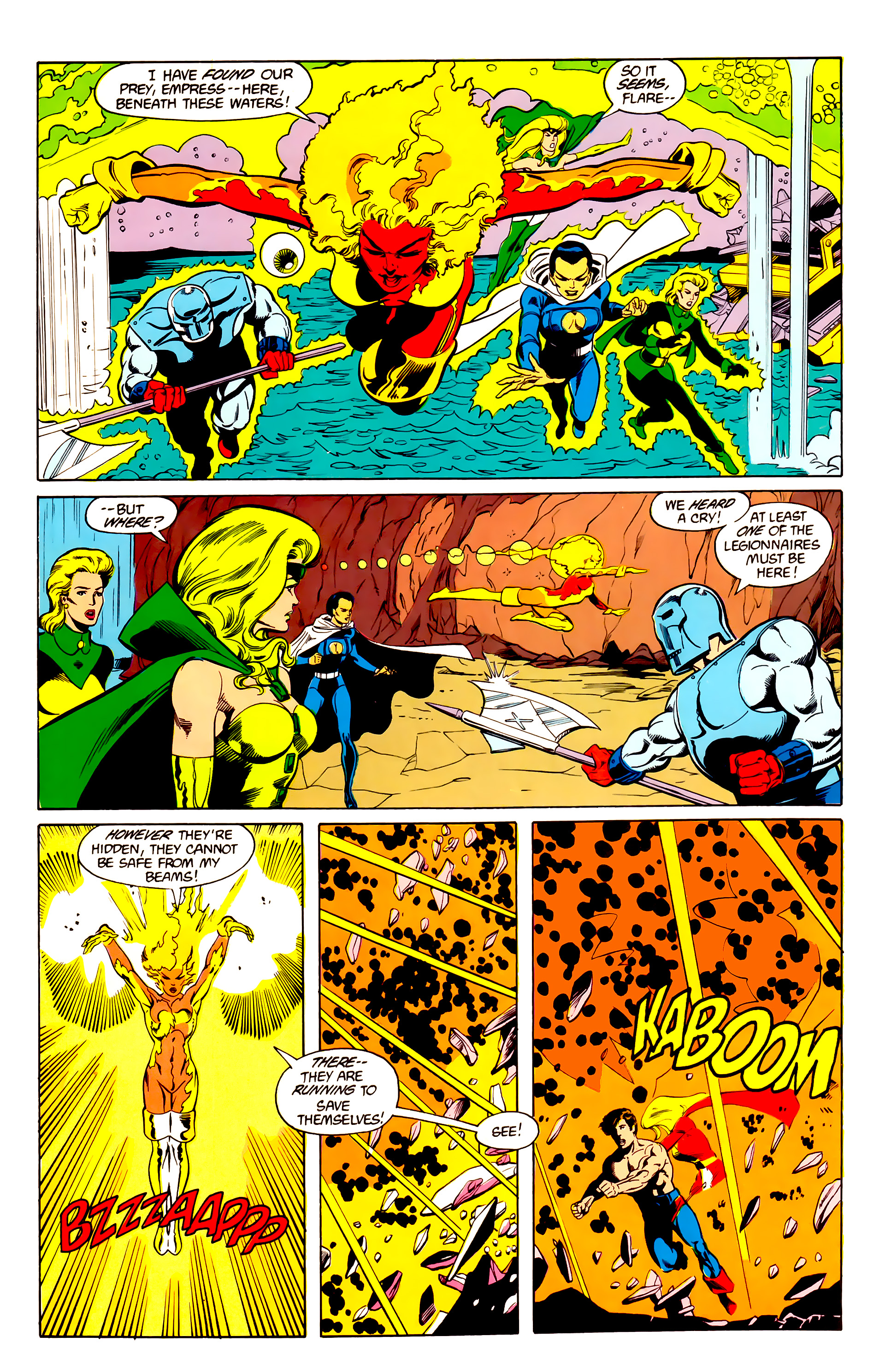 Legion of Super-Heroes (1984) 26 Page 17
