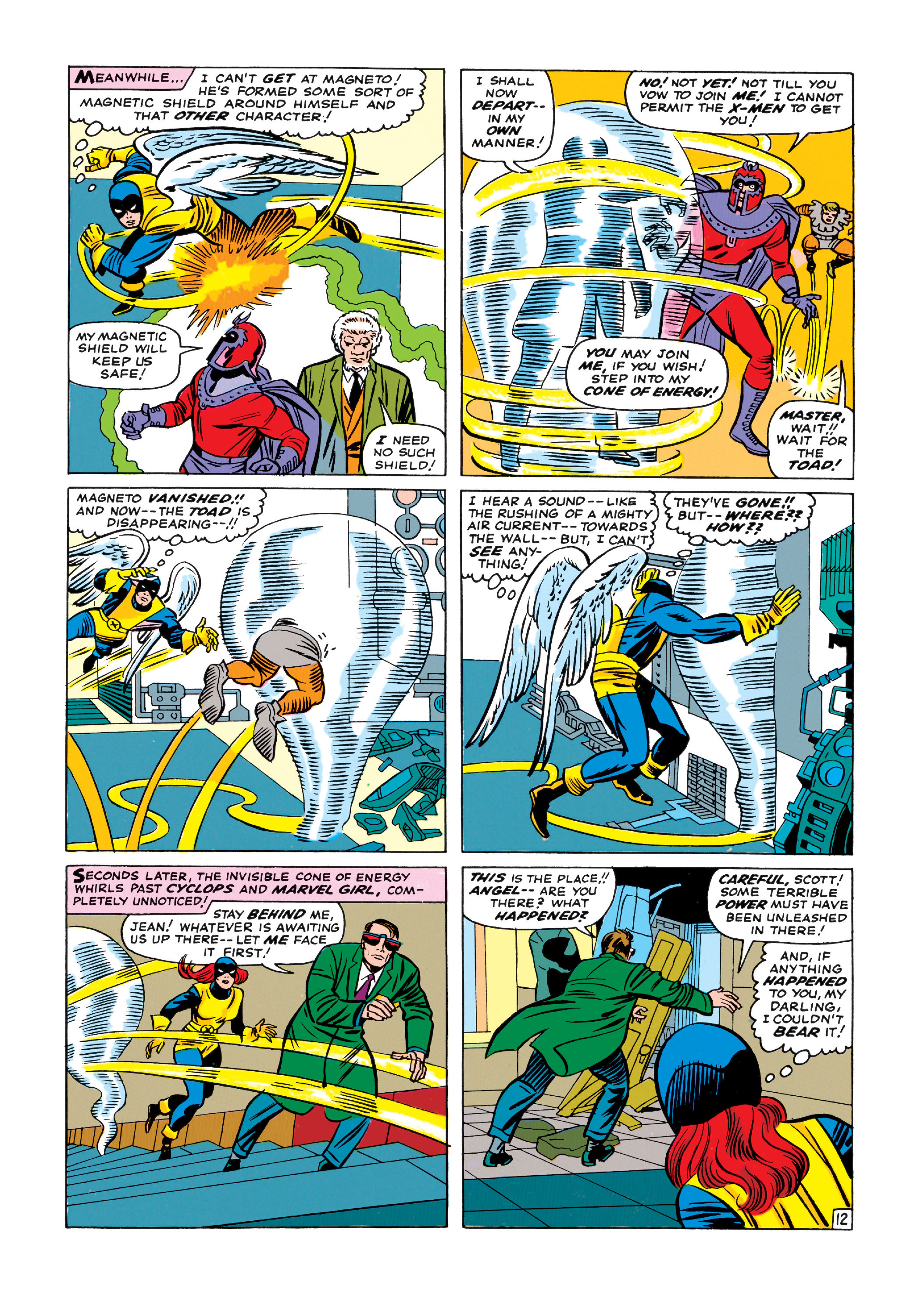 Read online Uncanny X-Men (1963) comic -  Issue #11 - 13