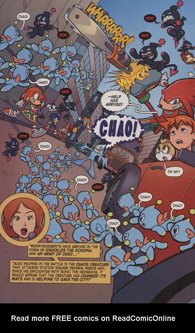 Read online Sonic X comic -  Issue #6 - 22