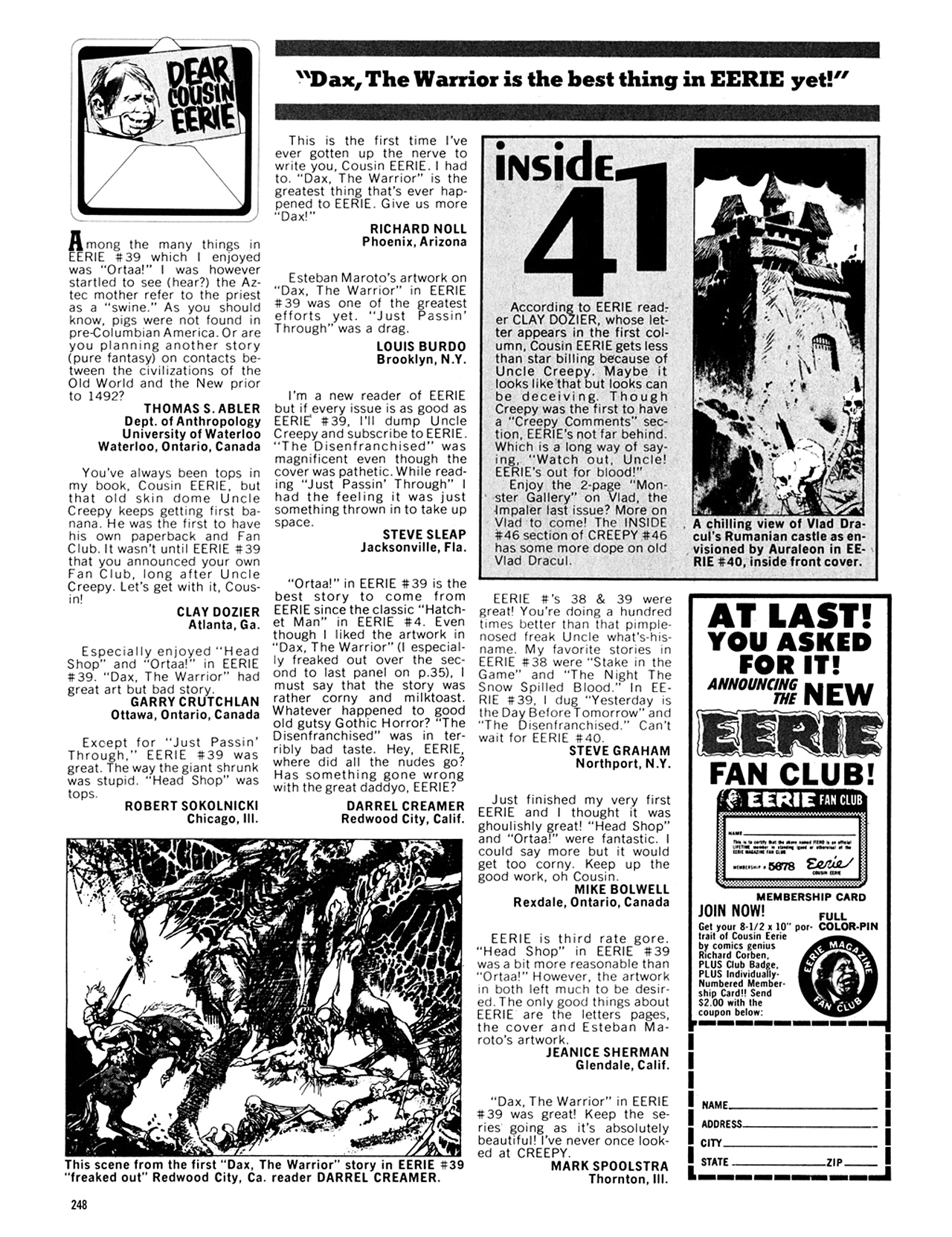 Read online Eerie Archives comic -  Issue # TPB 8 - 249