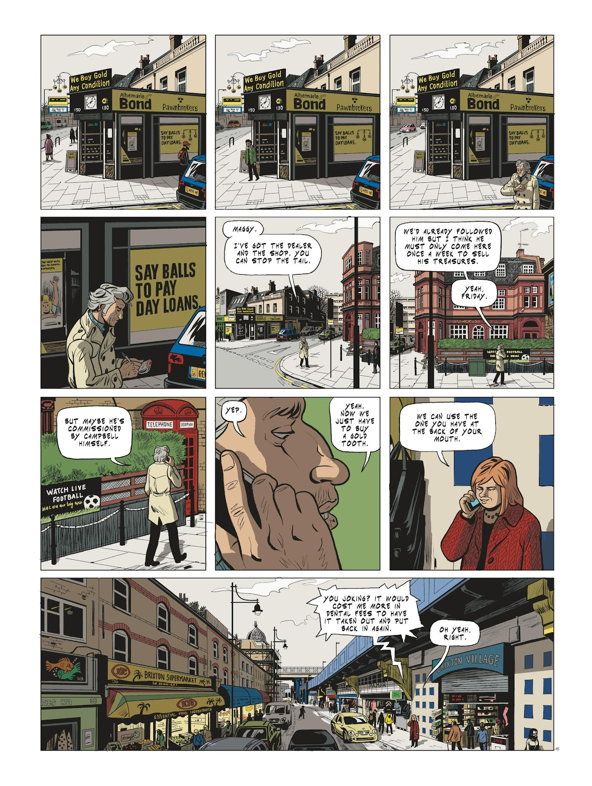 Read online Maggy Garrisson comic -  Issue #3 - 17