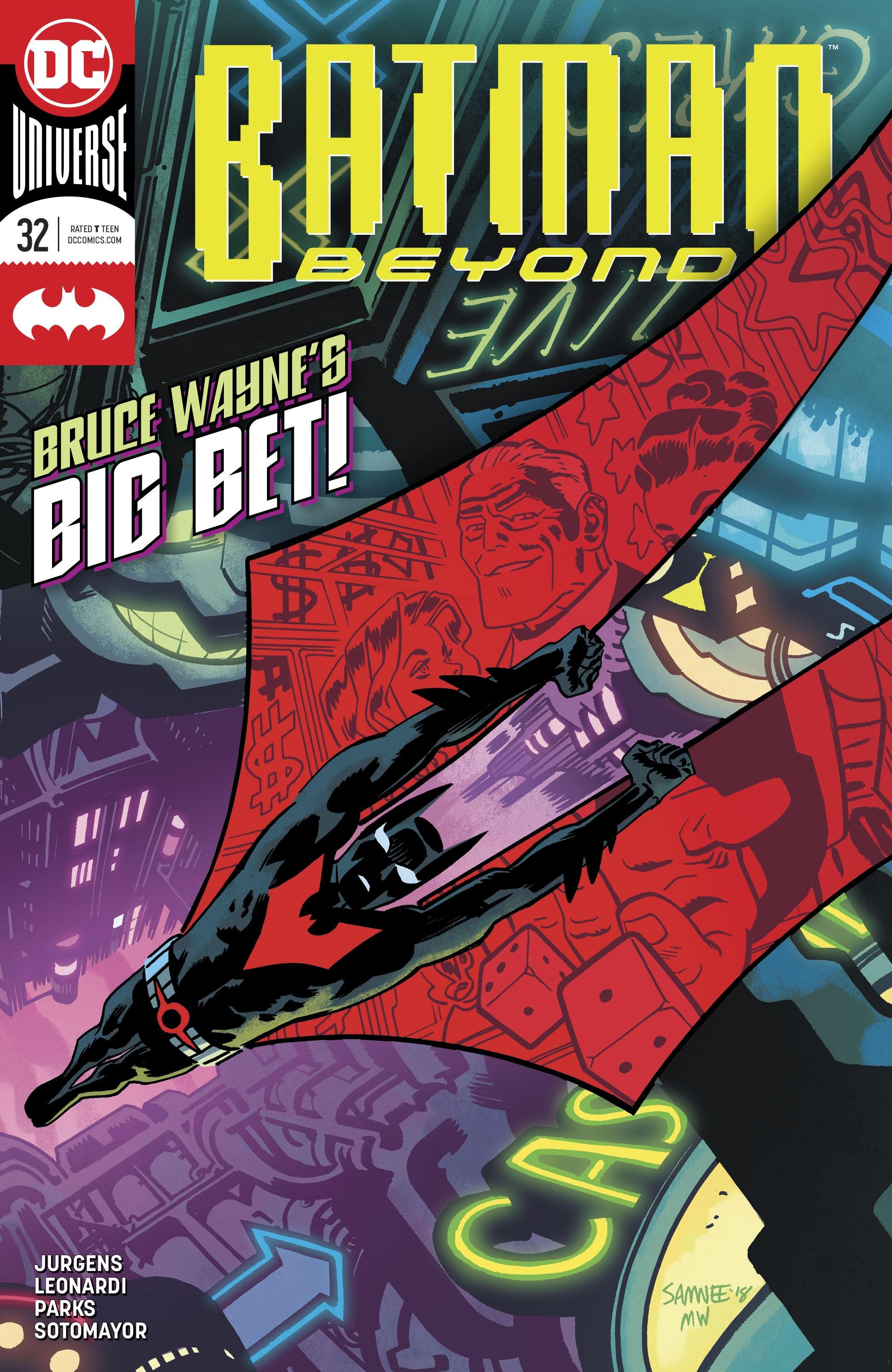 Batman Beyond (2016) 32 Page 1