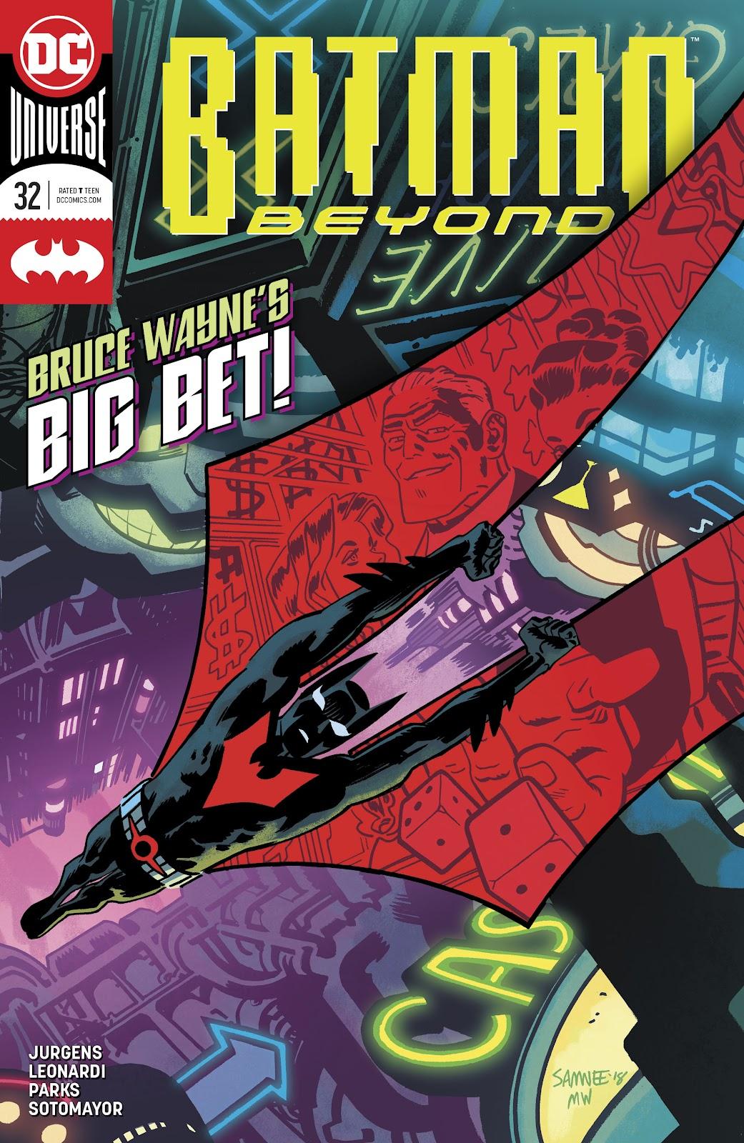 Read online Batman Beyond (2016) comic -  Issue #32 - 1