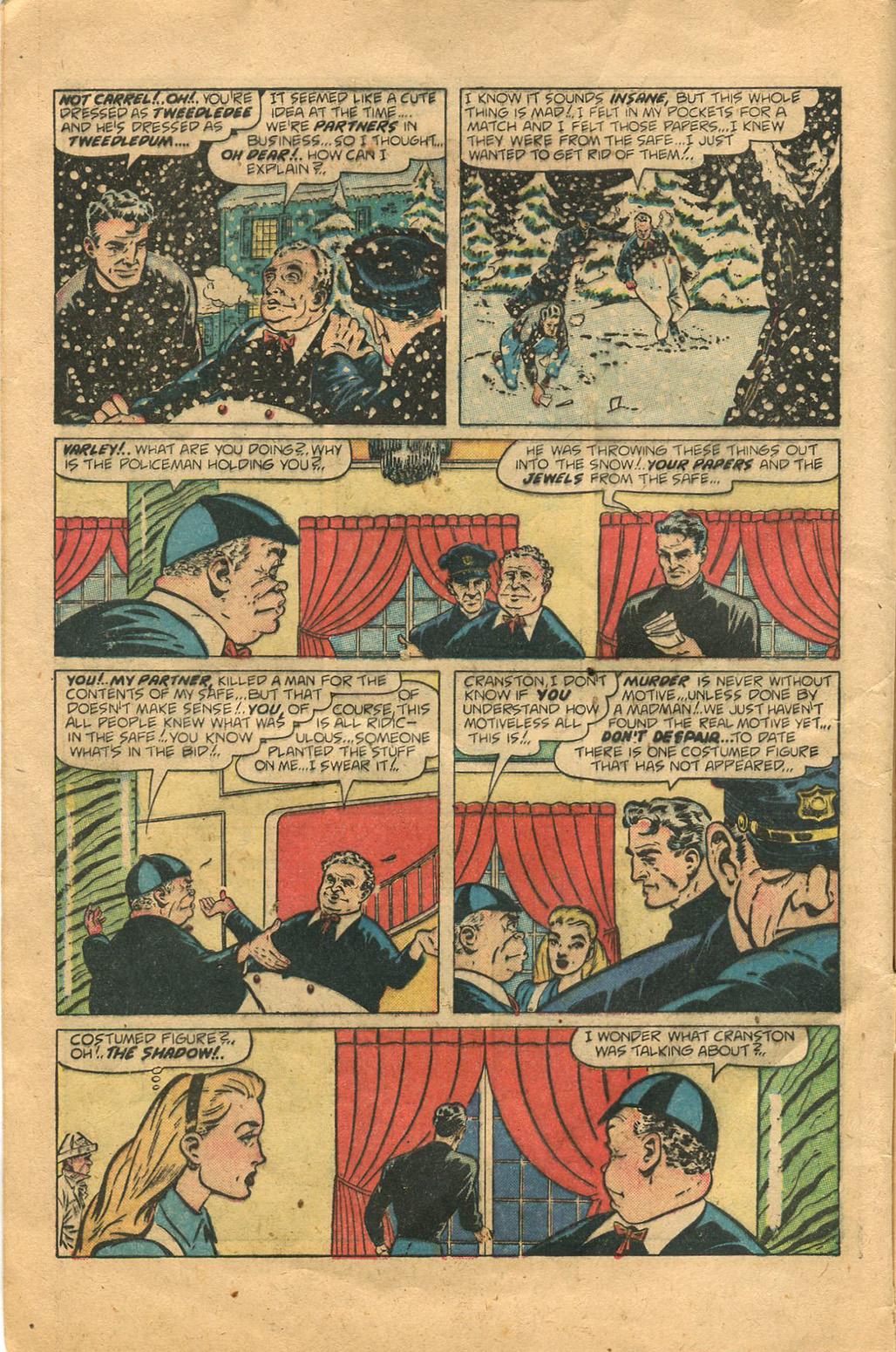 Read online Shadow Comics comic -  Issue #100 - 8
