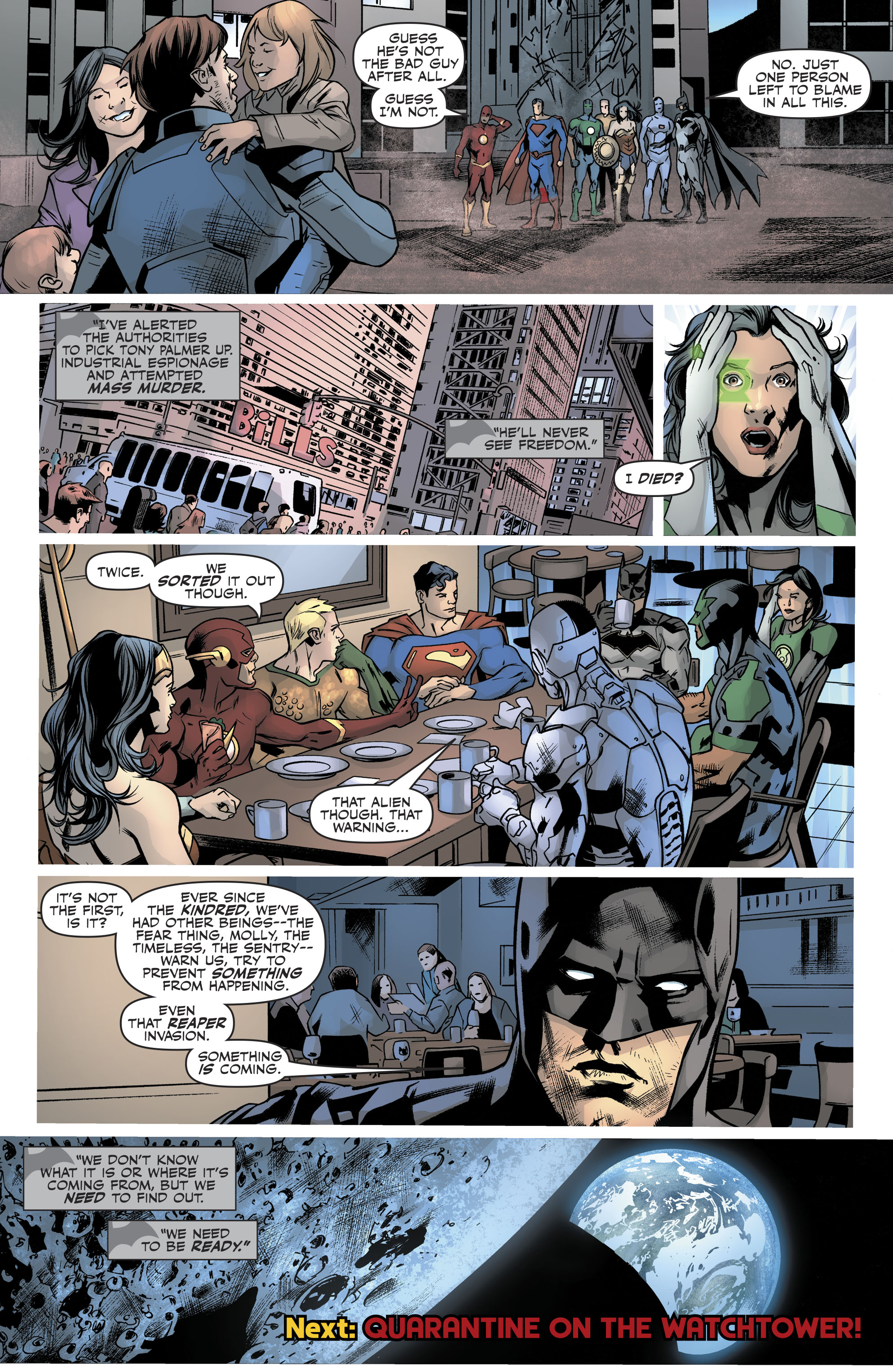 Read online Justice League (2016) comic -  Issue #21 - 22