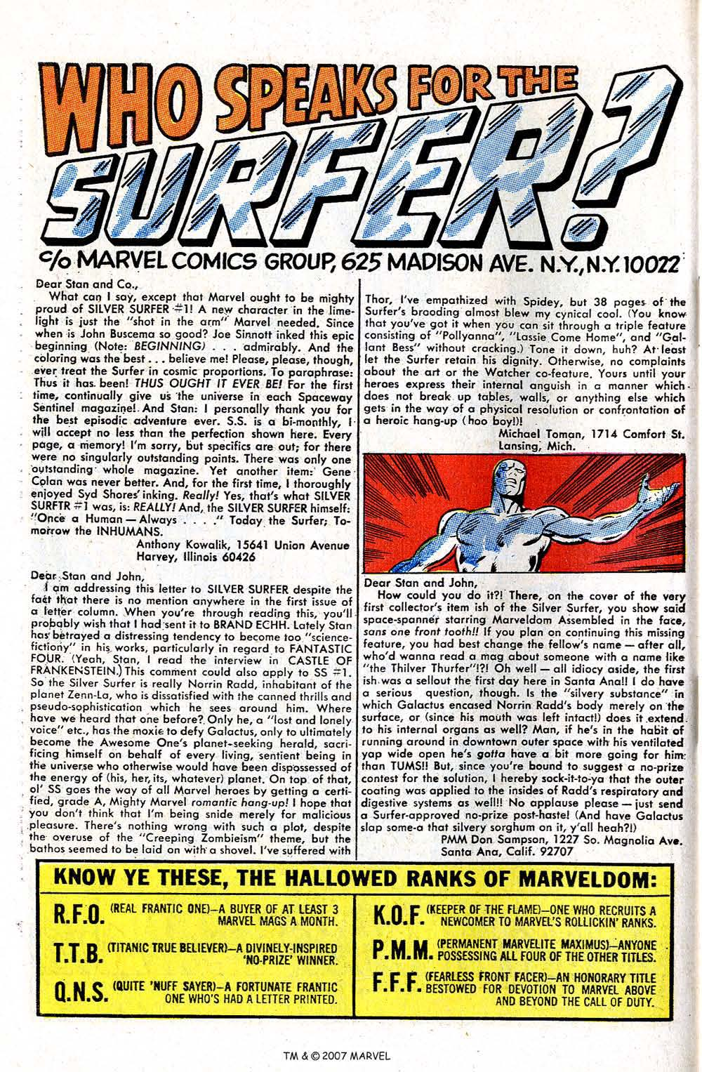Silver Surfer (1968) issue 3 - Page 64