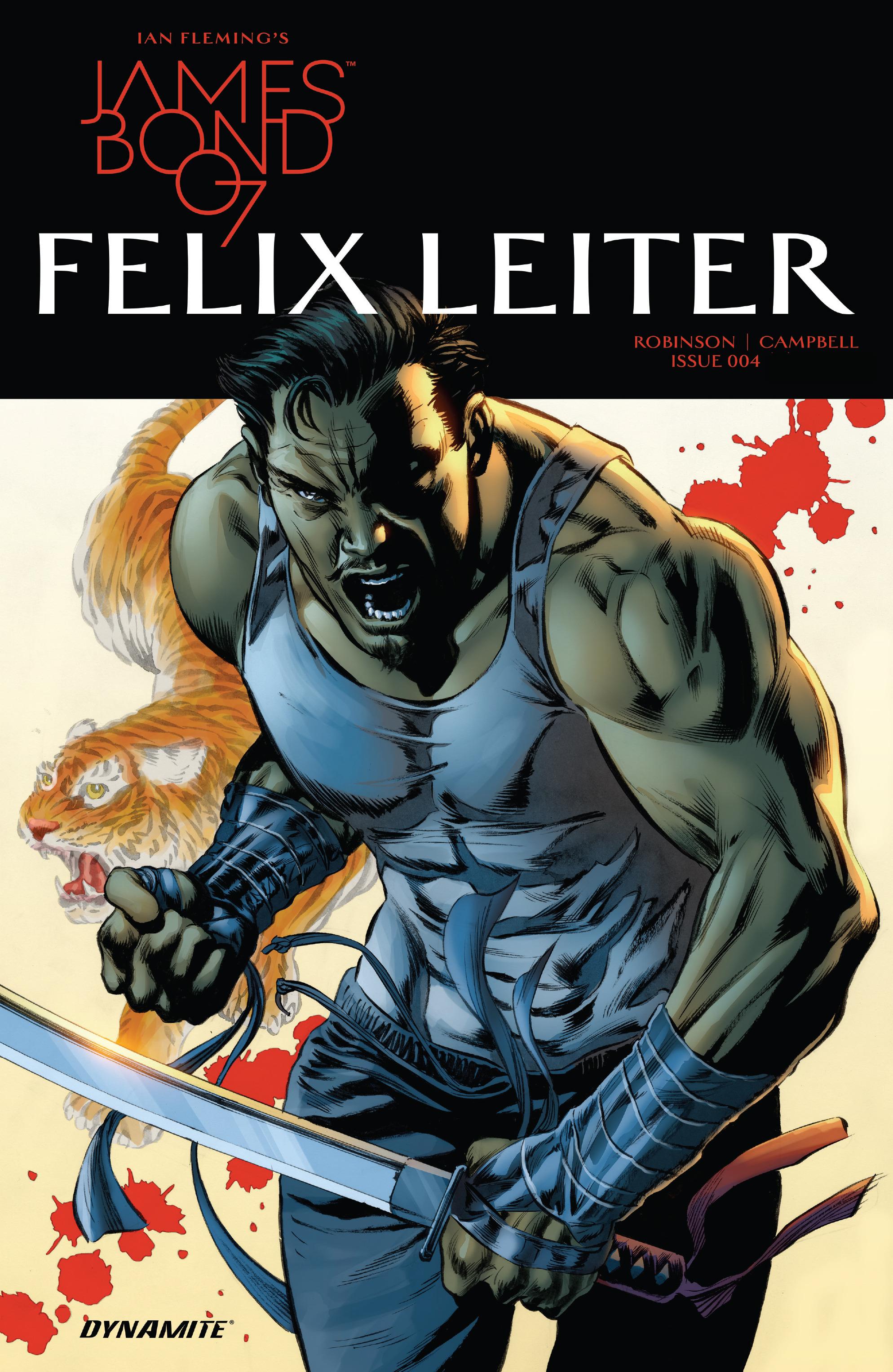 Read online James Bond: Felix Leiter comic -  Issue #4 - 1