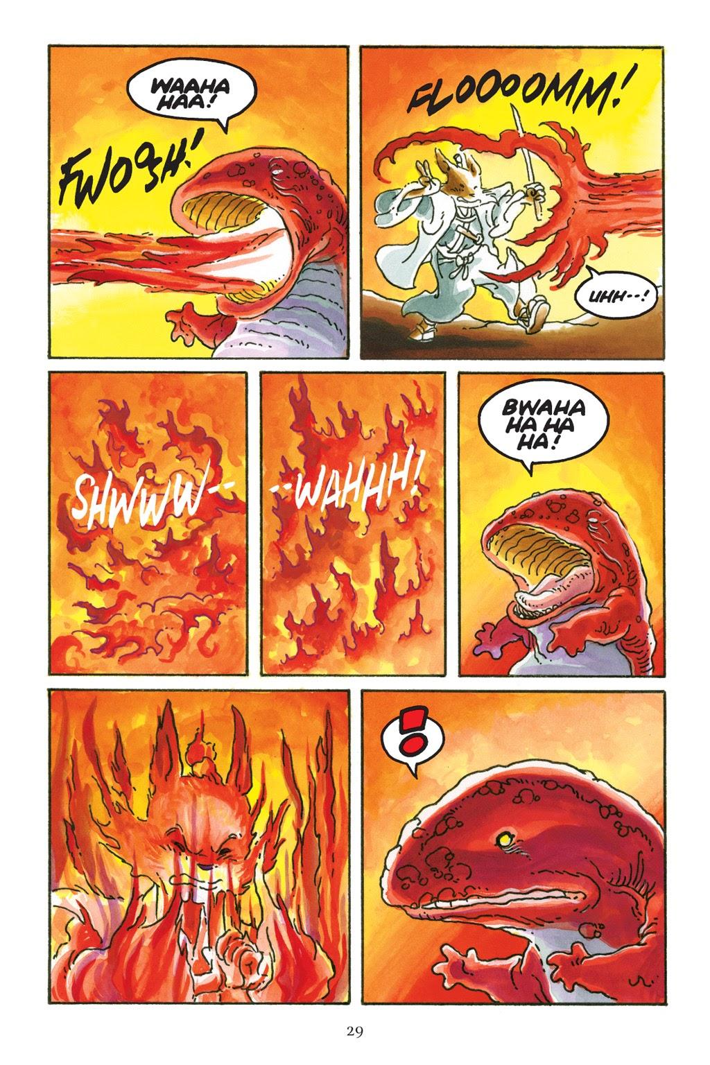 Read online Usagi Yojimbo: Yokai comic -  Issue # Full - 29