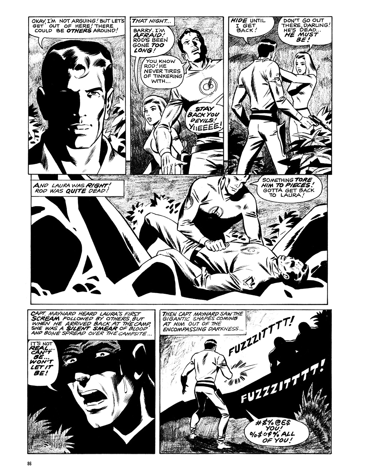 Read online Eerie Archives comic -  Issue # TPB 6 - 87