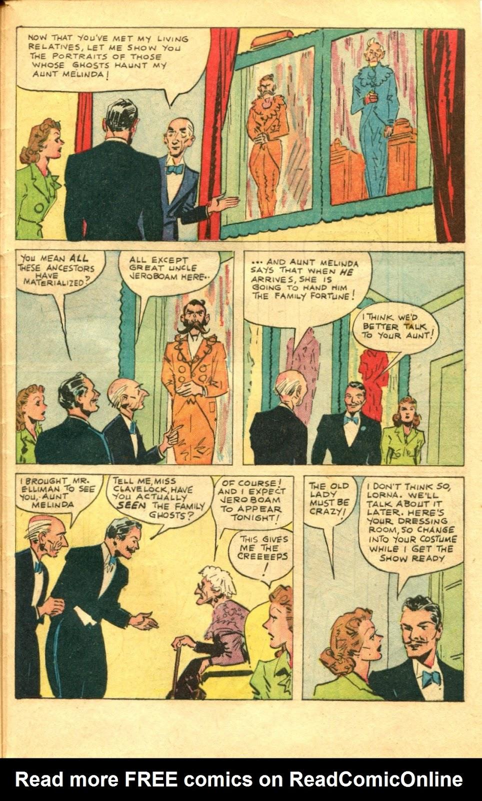 Read online Super-Magician Comics comic -  Issue #48 - 45