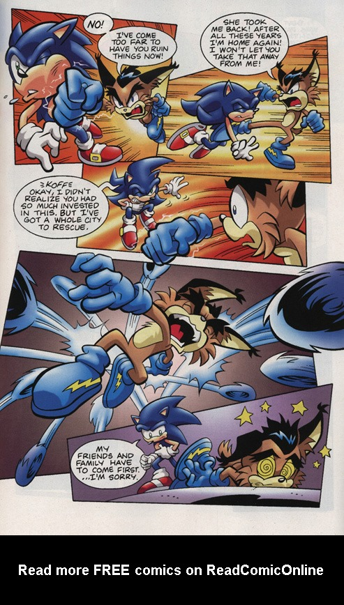 Read online Sonic Universe comic -  Issue #15 - 17