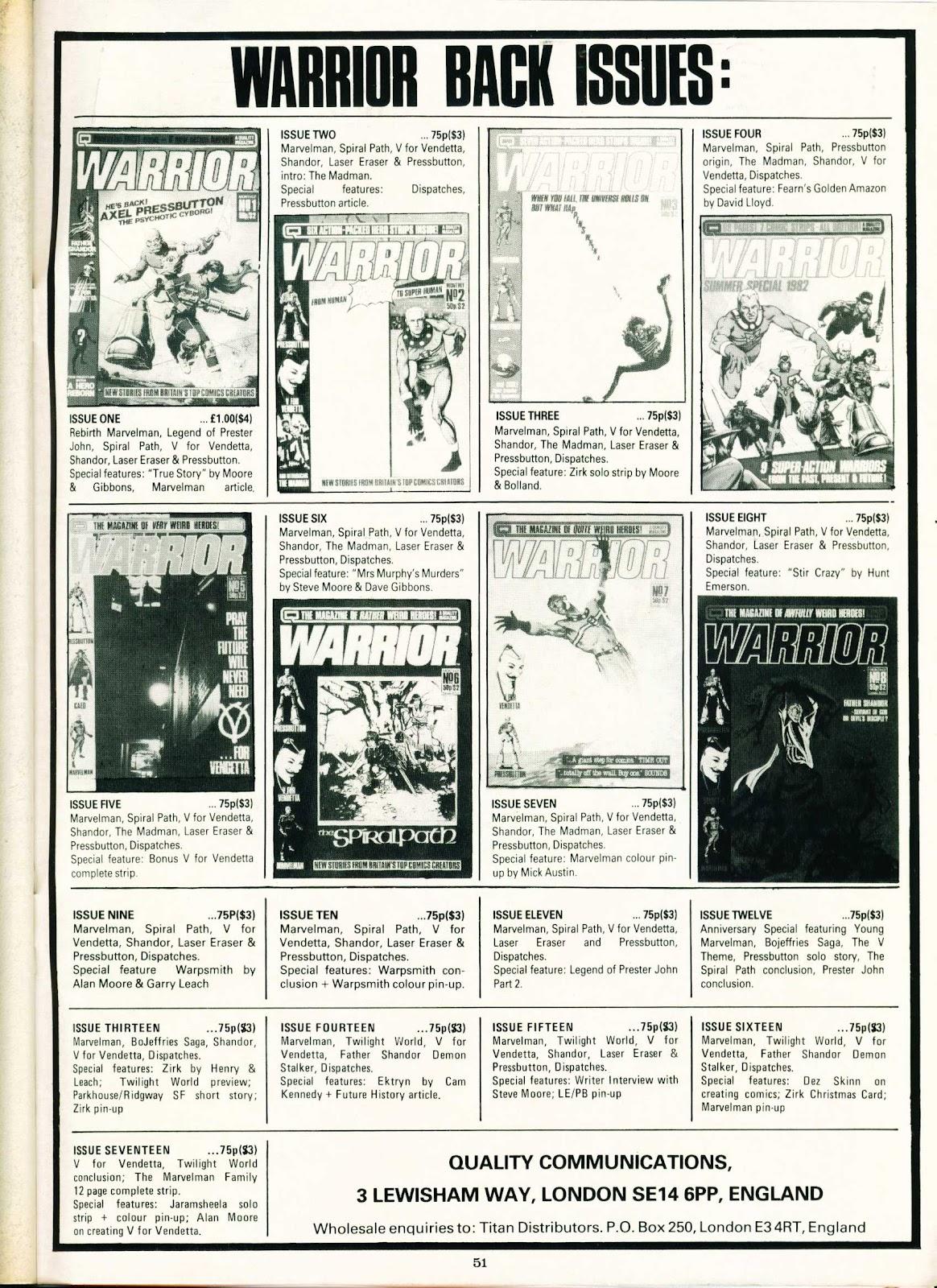 Warrior Issue #20 #21 - English 51