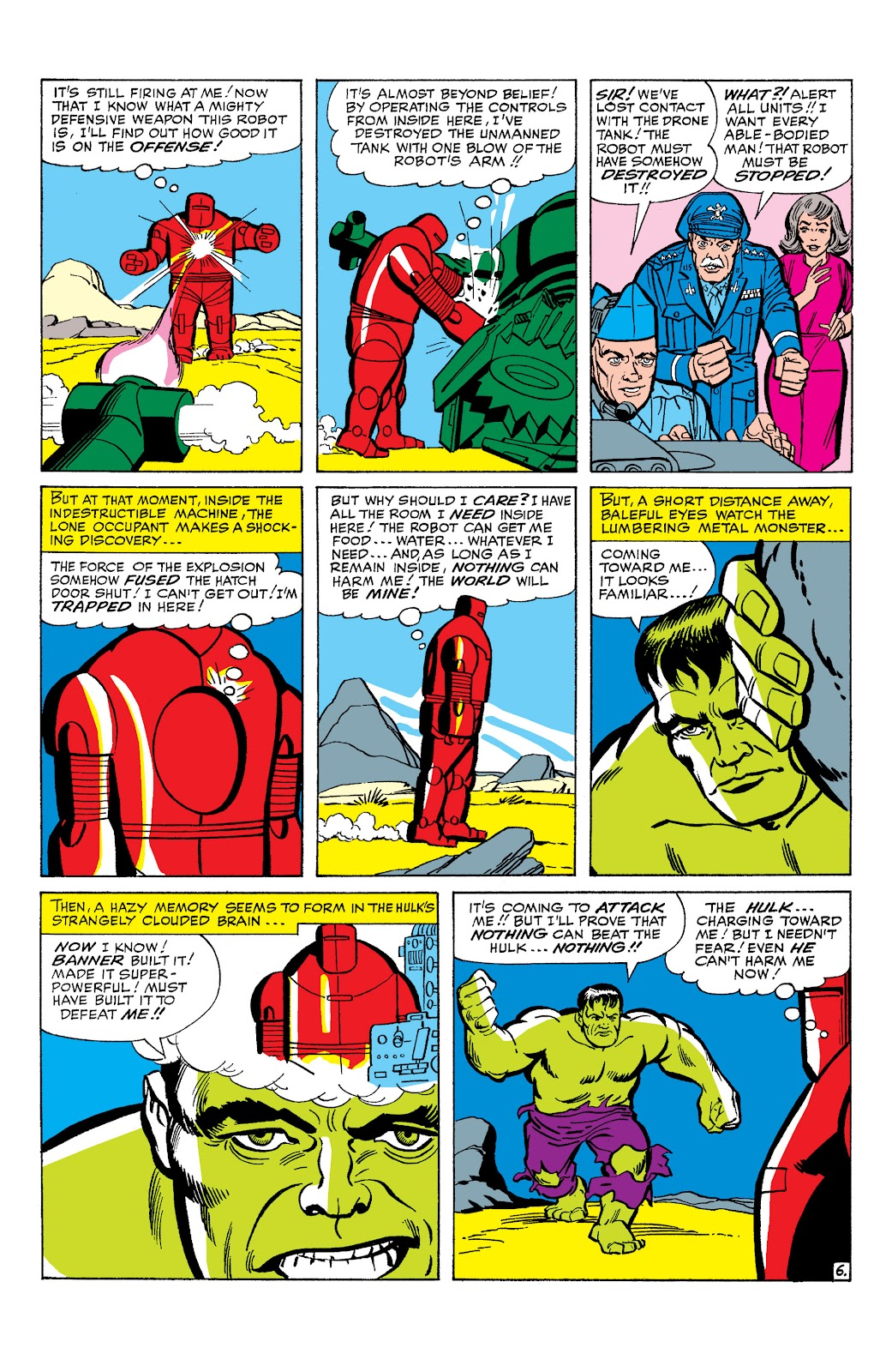 Read online Marvel Masterworks: The Incredible Hulk comic -  Issue # TPB 2 (Part 1) - 29