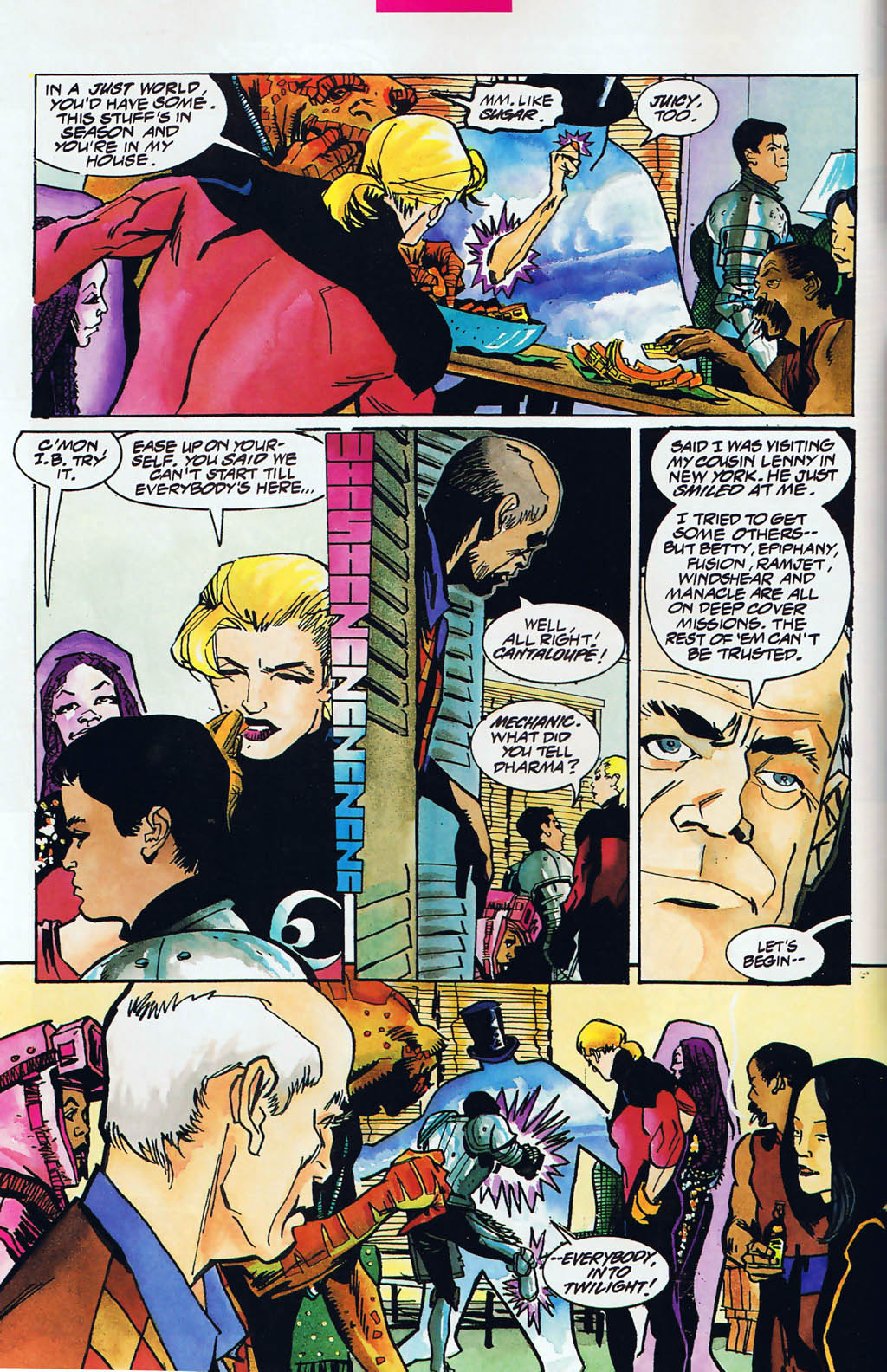 Read online Shadow Cabinet comic -  Issue #15 - 5