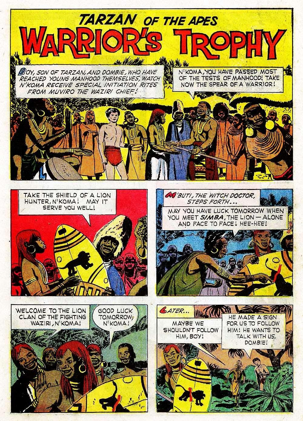 Tarzan (1962) issue 139 - Page 19