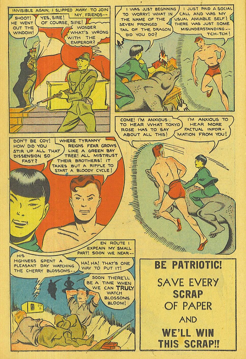 Read online Super-Magician Comics comic -  Issue #42 - 33