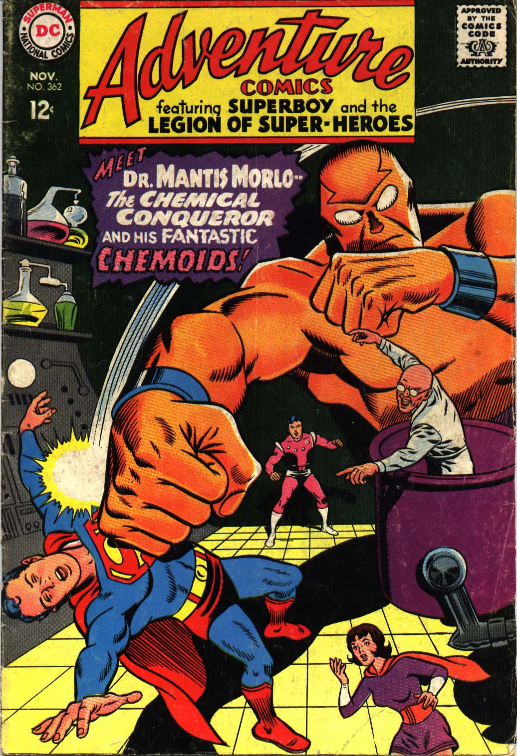 Read online Adventure Comics (1938) comic -  Issue #362 - 1