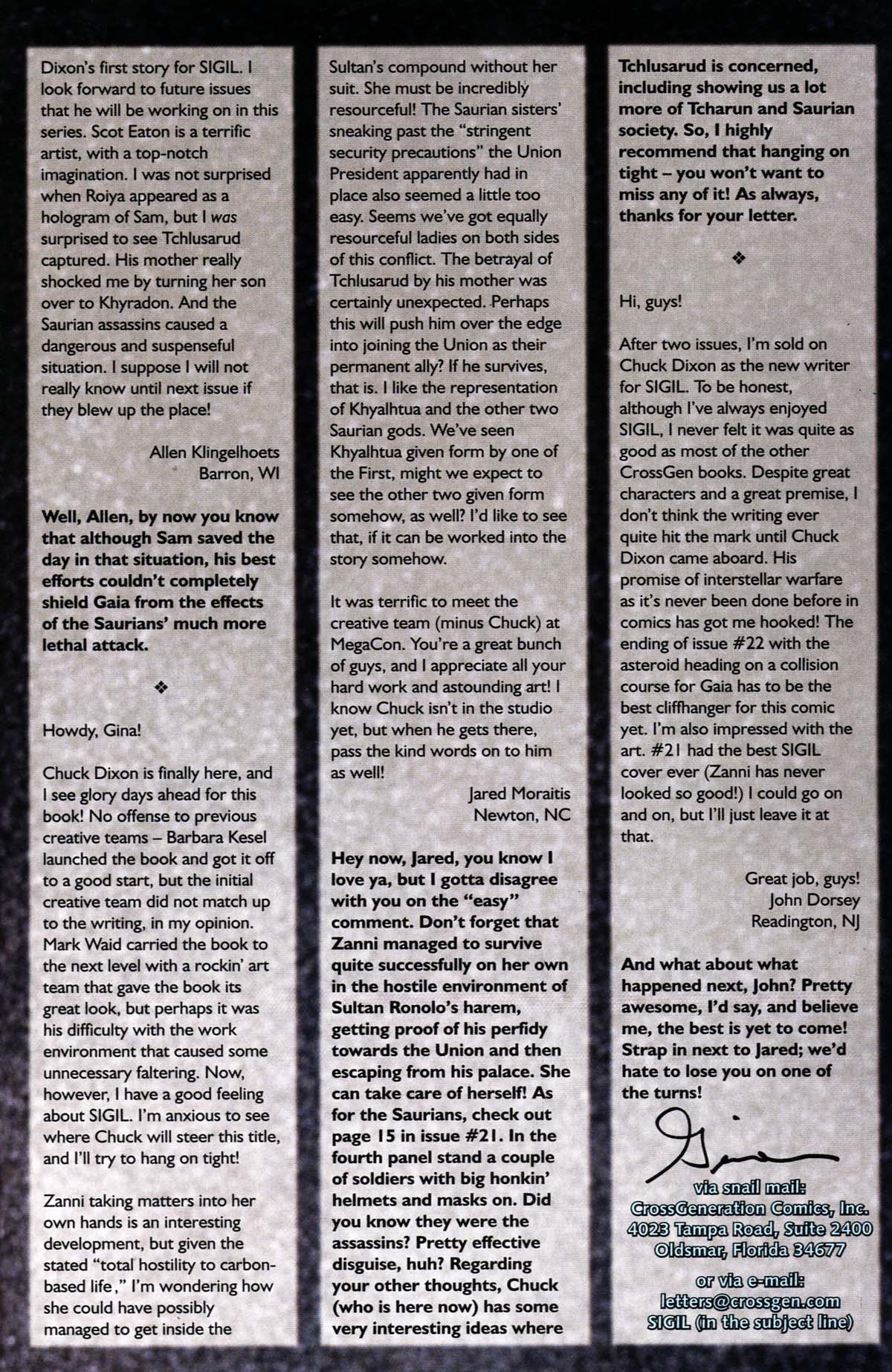 Read online Sigil (2000) comic -  Issue #24 - 33