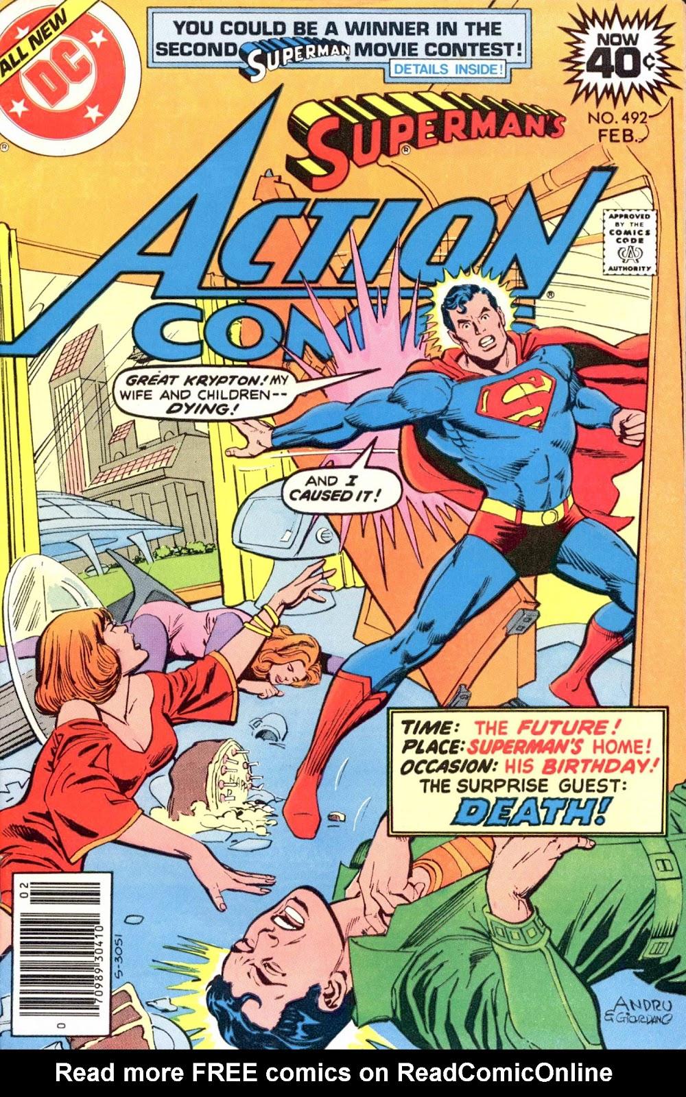 Action Comics (1938) 492 Page 1