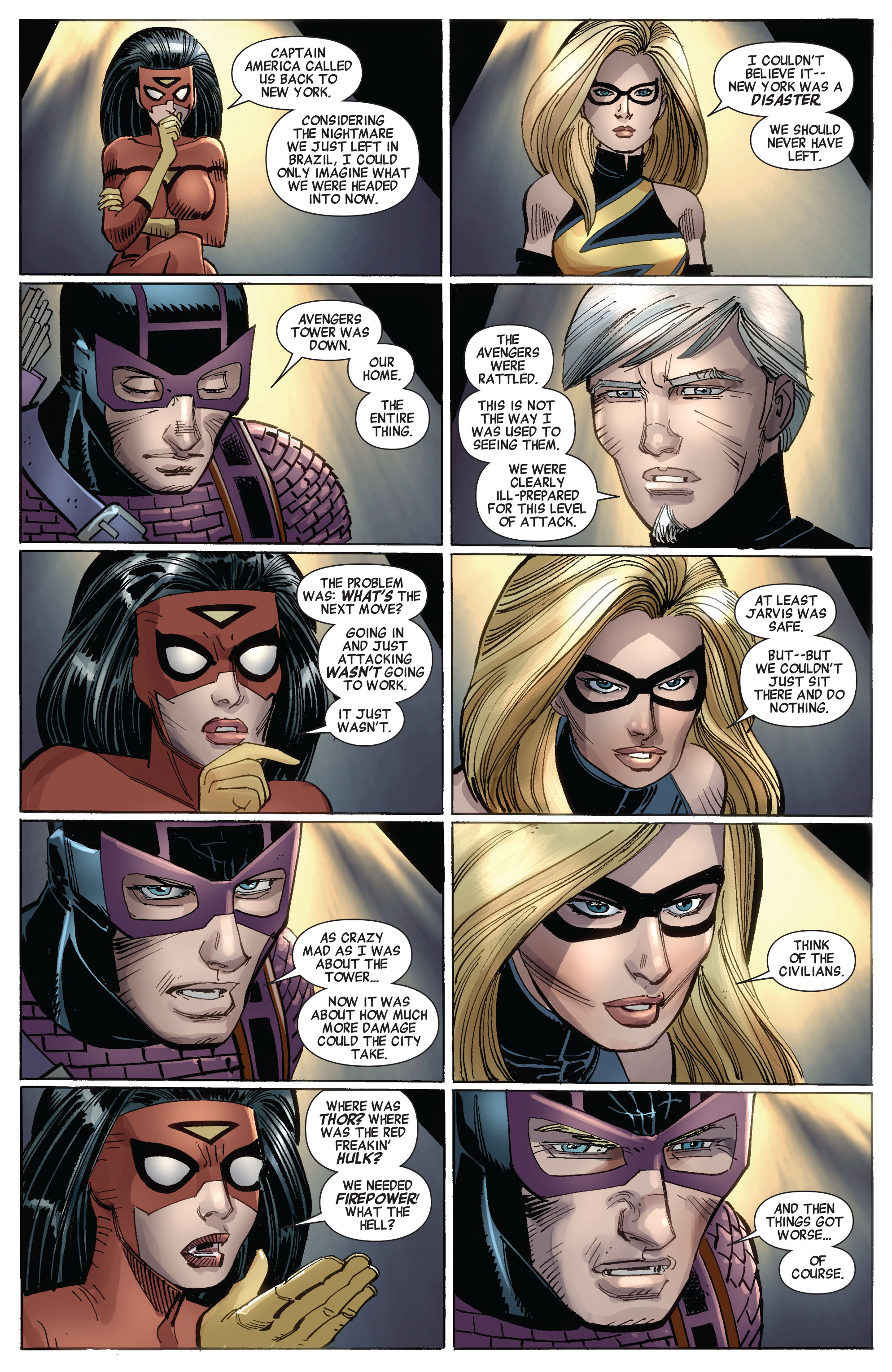 Read online Avengers (2010) comic -  Issue #17 - 4