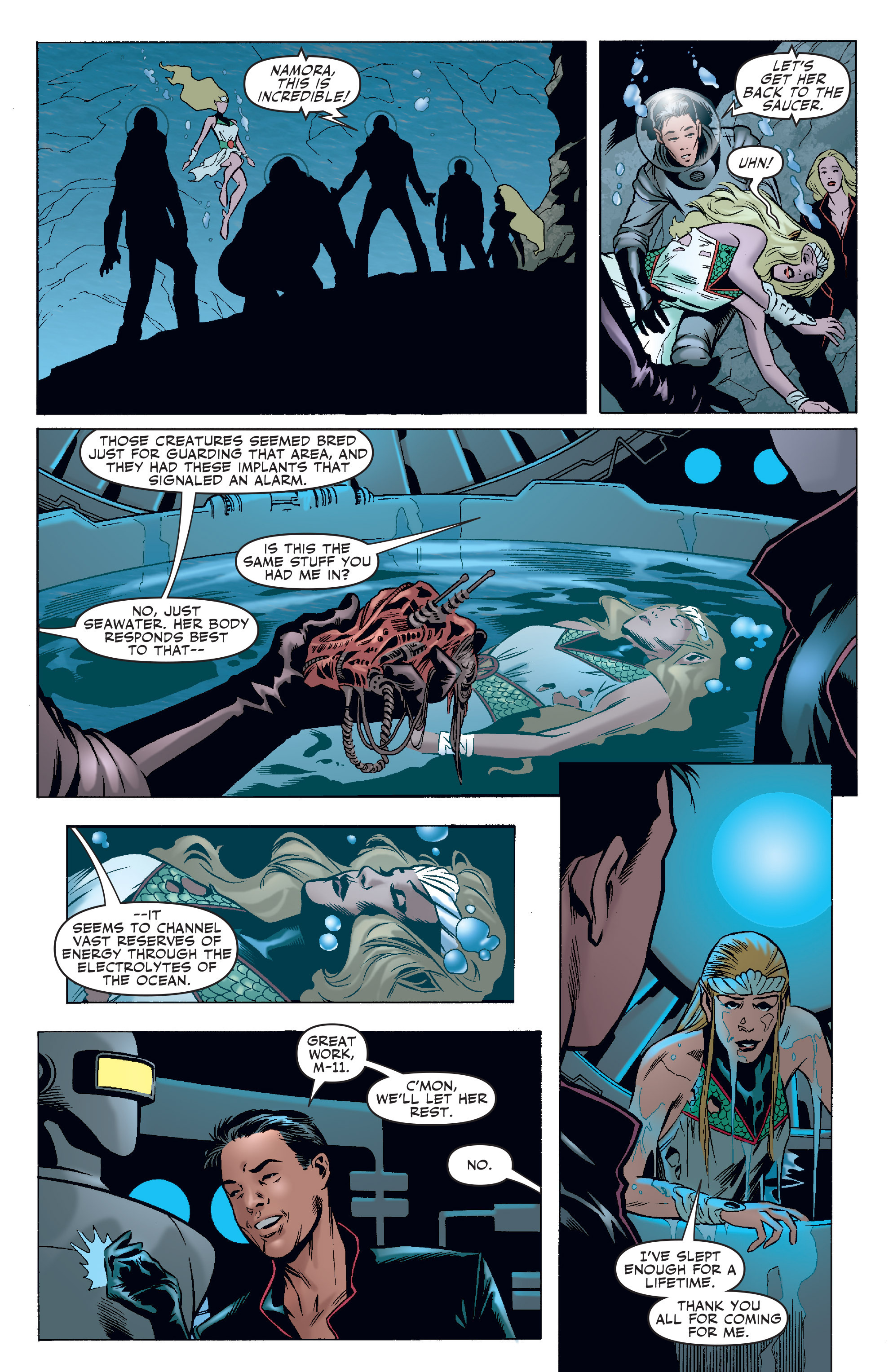 Read online Agents Of Atlas (2006) comic -  Issue #4 - 11