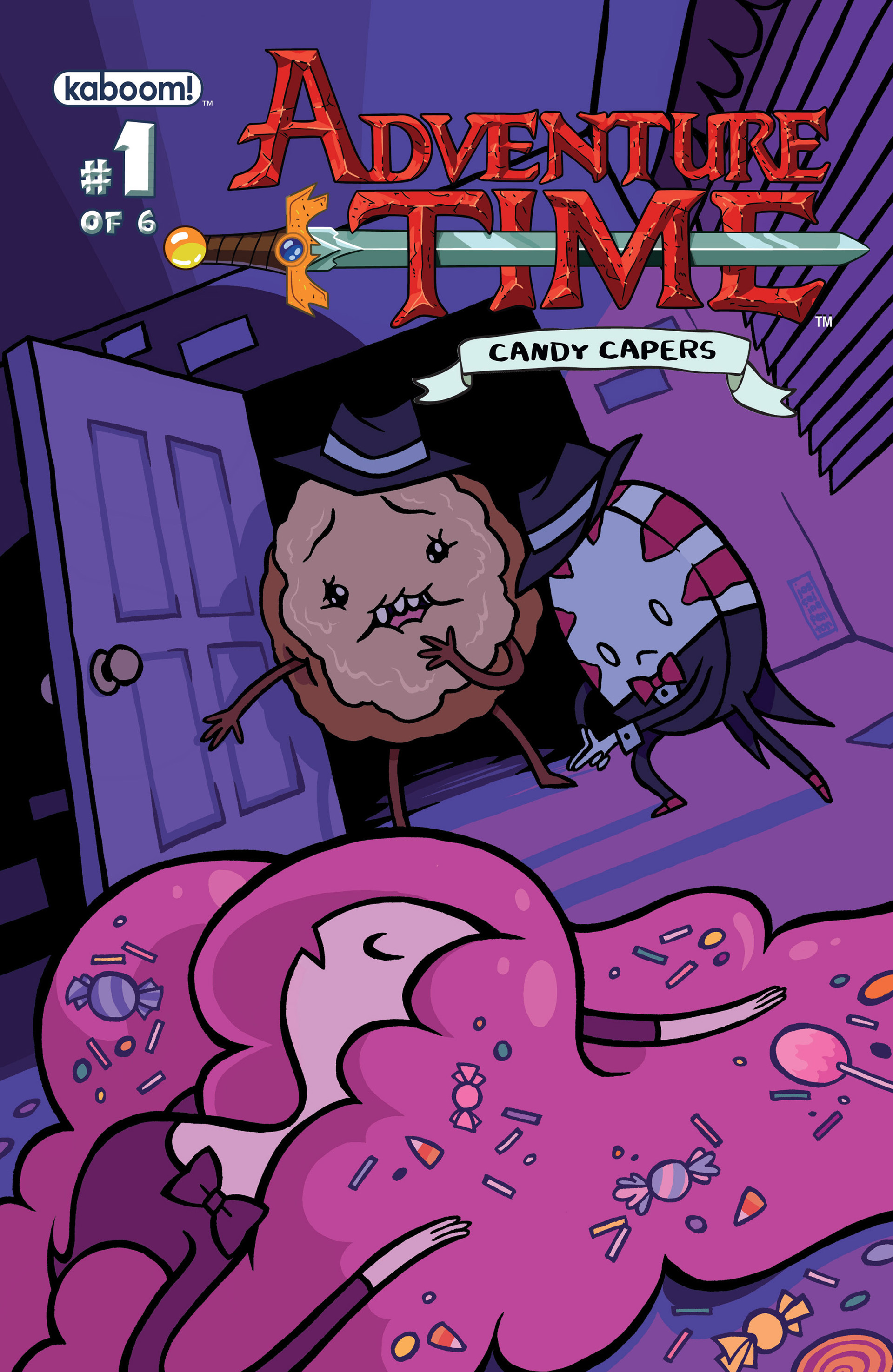 Read online Adventure Time: Candy Capers comic -  Issue #1 - 1