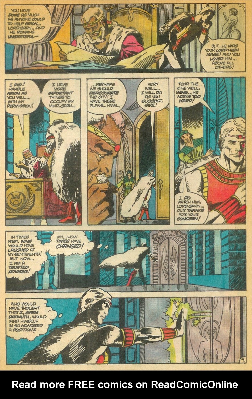 Read online Arion, Lord of Atlantis comic -  Issue #24 - 10