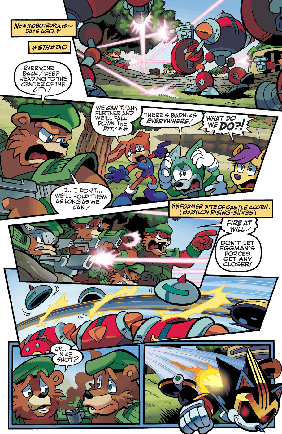 Read online Sonic Universe comic -  Issue #50 - 3