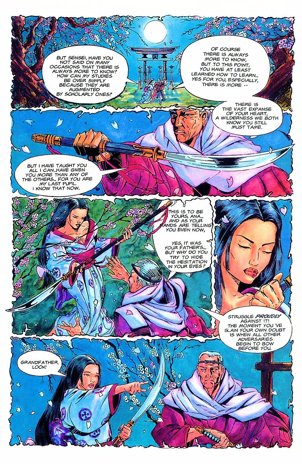 Read online Shi: The Way of the Warrior comic -  Issue #2 - 5