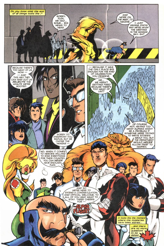Read online Alpha Flight (1997) comic -  Issue #20 - 23