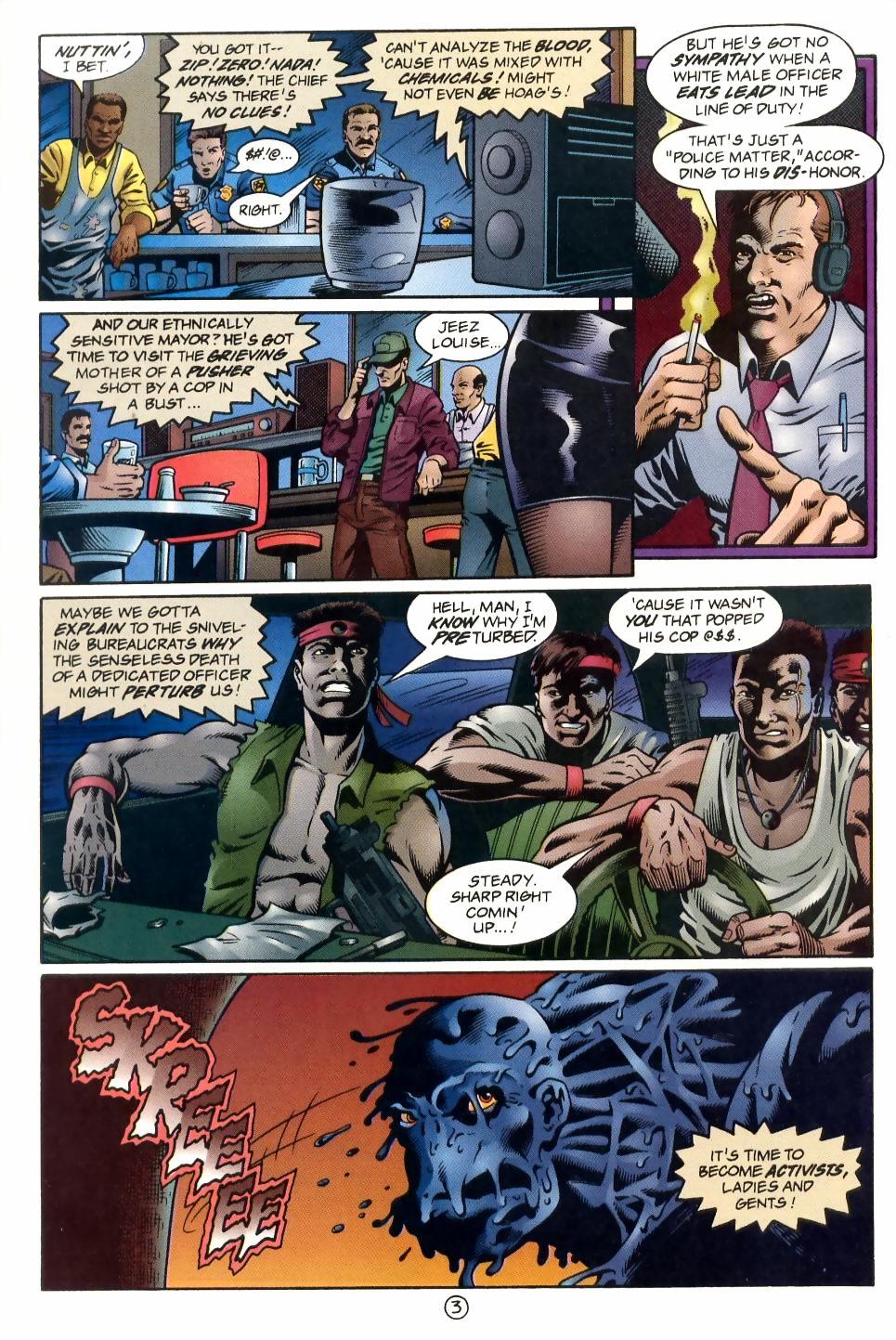 Read online Sludge comic -  Issue #1 - 4