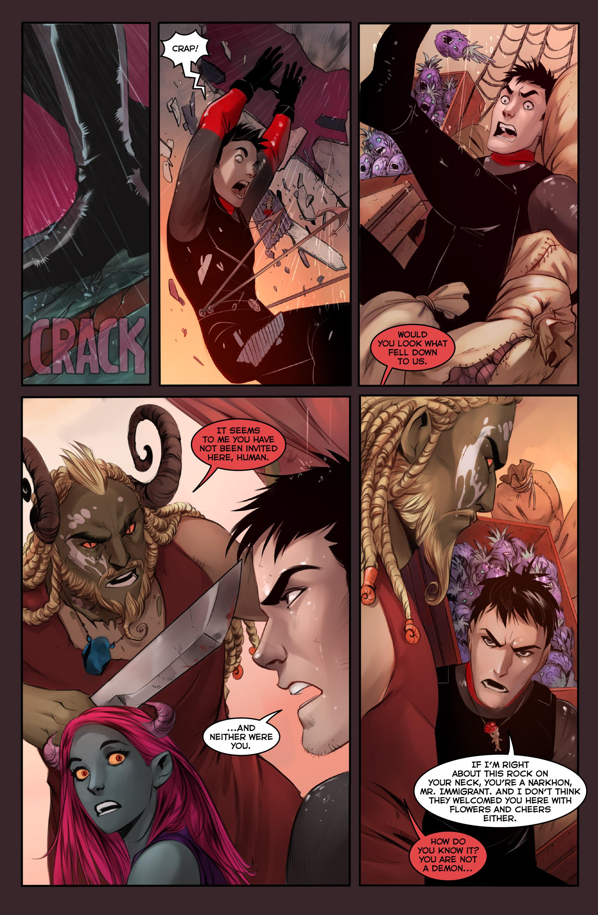Read online Demonslayer, Vol. 2 comic -  Issue #4 - 7