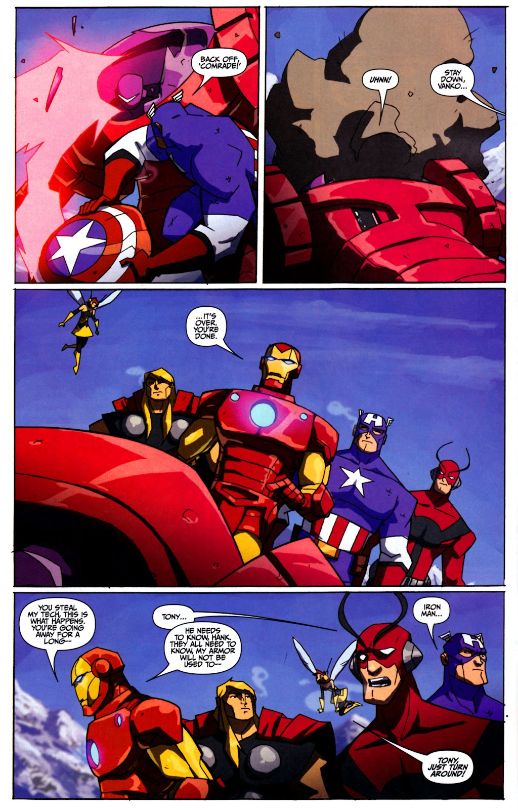 Avengers: Earth's Mightiest Heroes (2011) Issue #2 #2 - English 5